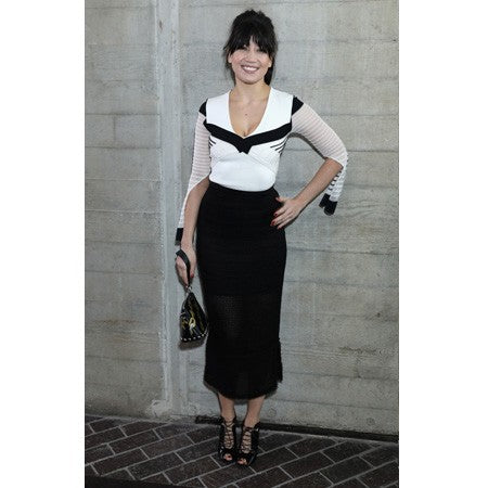 4c6bc404e Daisy Lowe Wears The Faulkner Top And Arreton Skirt – Roland Mouret