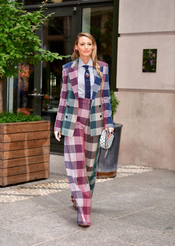 Blake Lively in RE19 Tailoring