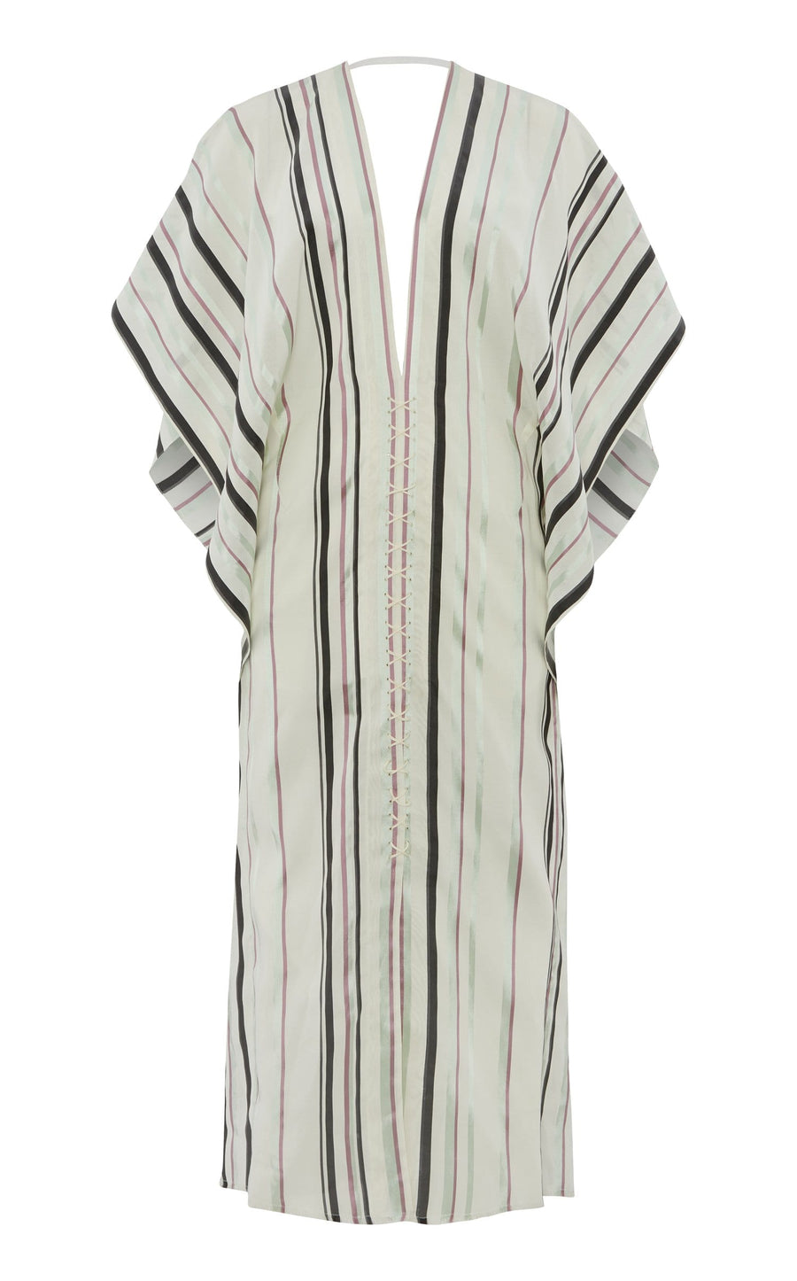 Adamson Dress In Pastel Multi/White from Roland Mouret