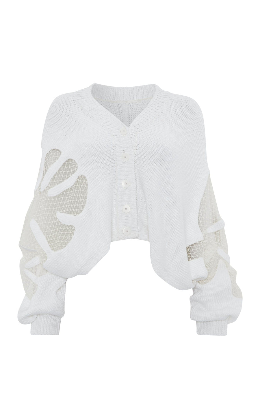 Adelaide Cardigan In White from Roland Mouret