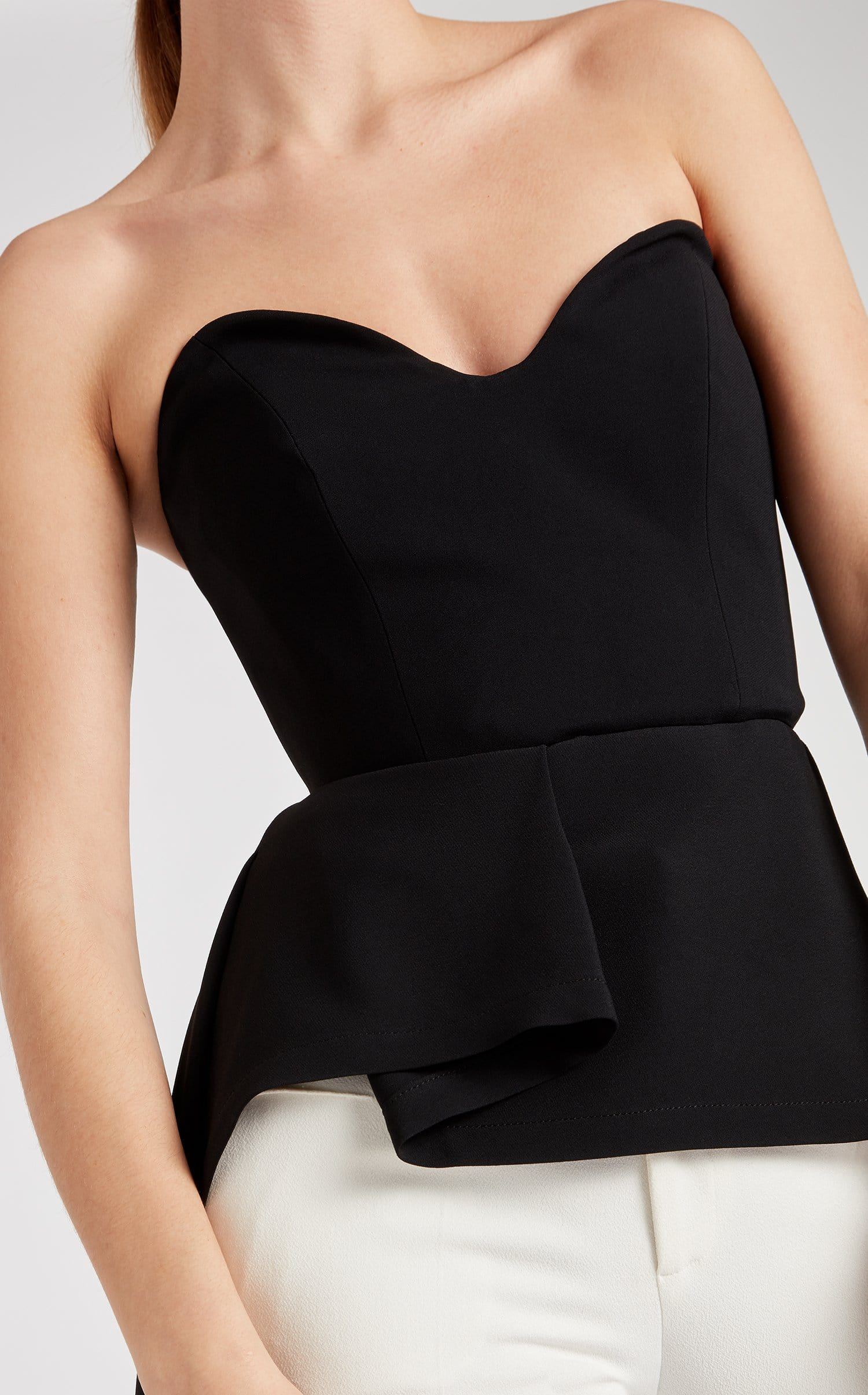 Allyson Top In Black from Roland Mouret