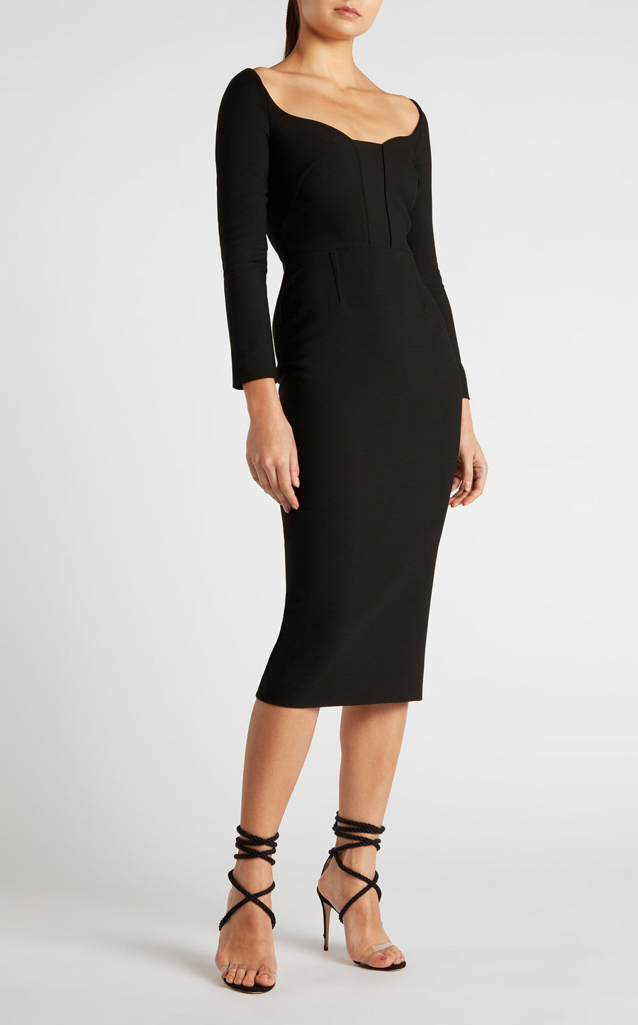 Ardon Dress In Black from Roland Mouret