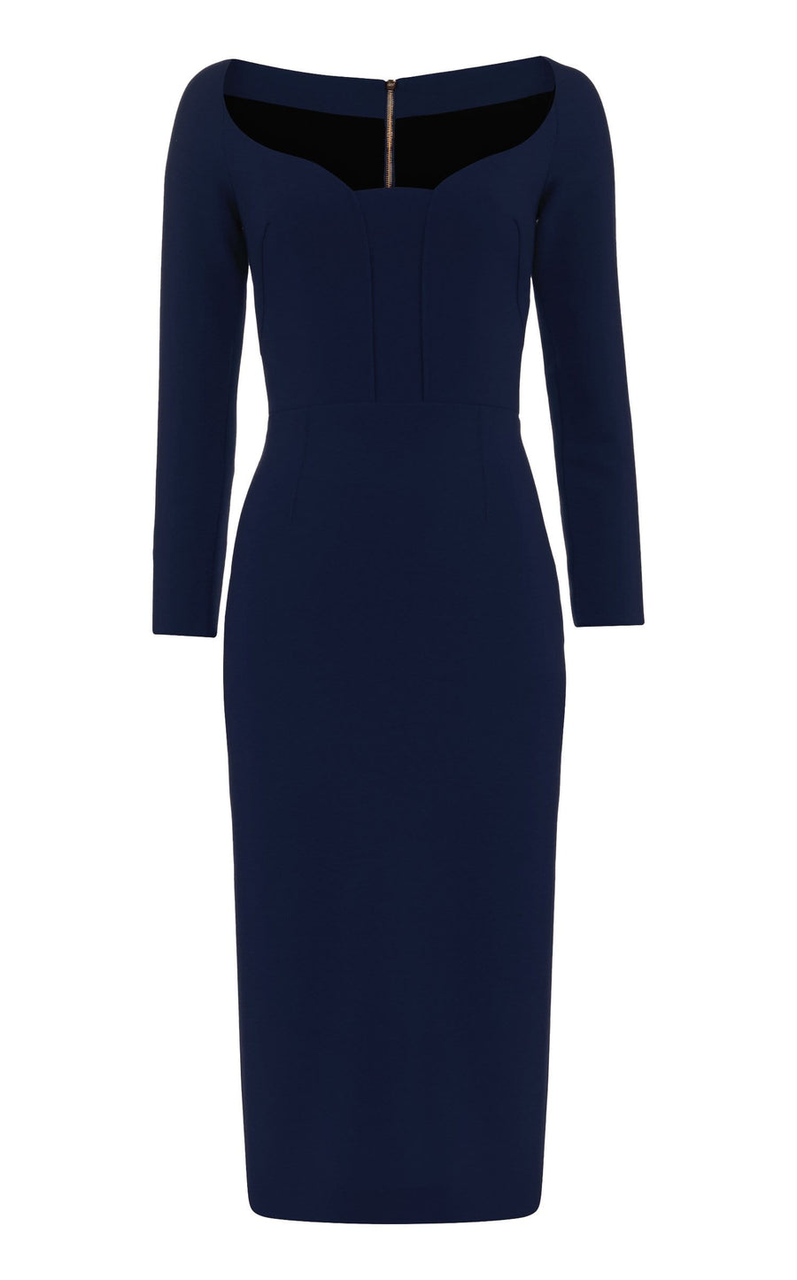 Ardon Dress In Navy from Roland Mouret