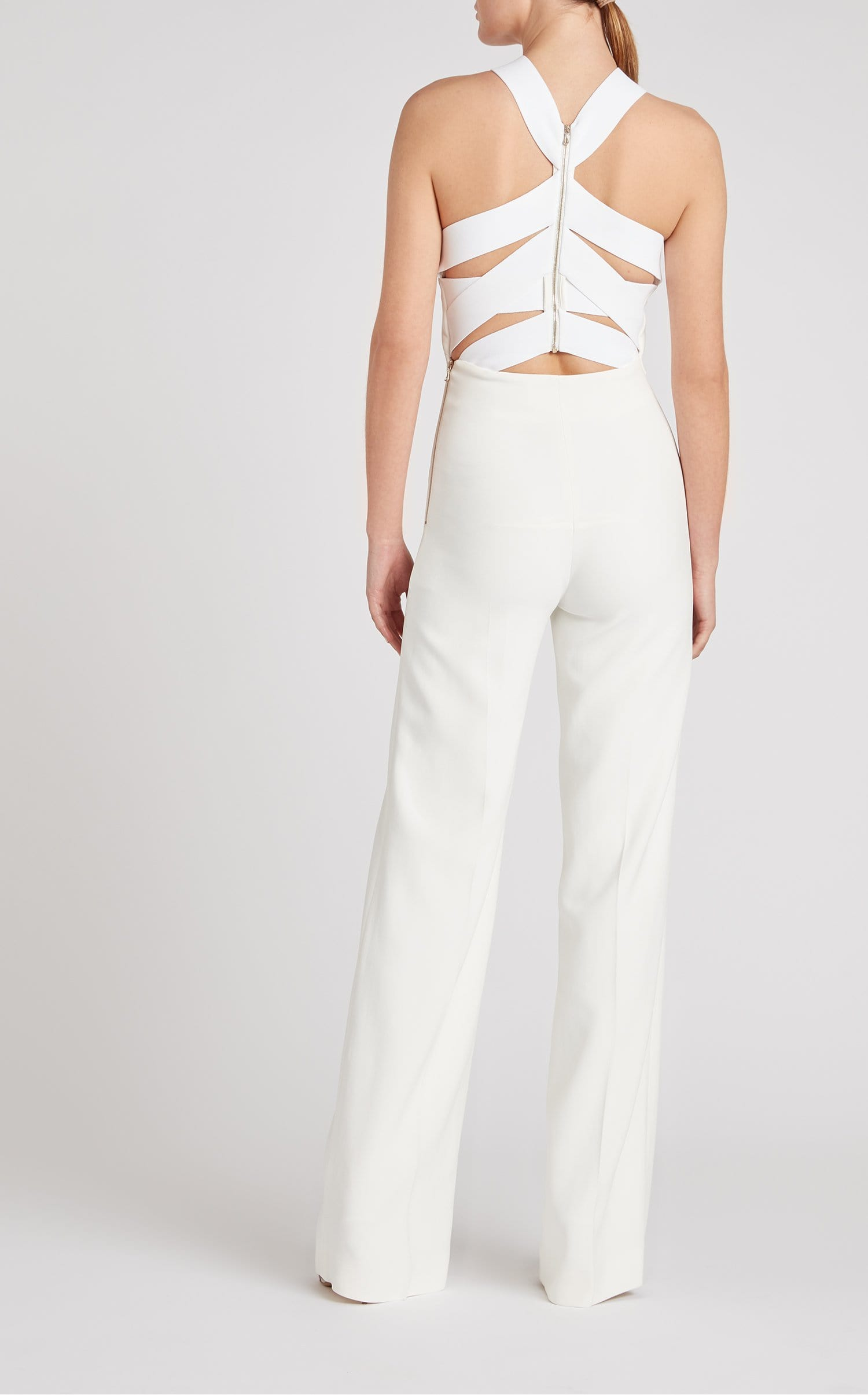 Shotwick Jumpsuit In White from Roland Mouret