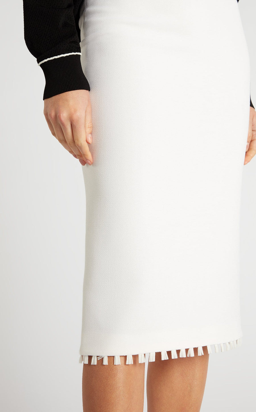Arreton Skirt In White from Roland Mouret