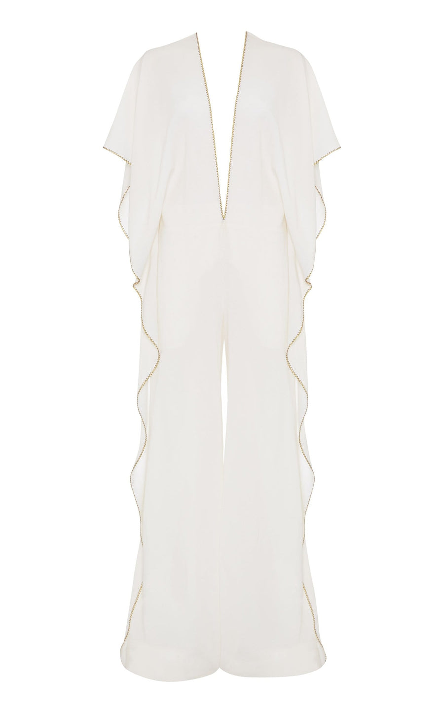 Auclair Jumpsuit In White from Roland Mouret