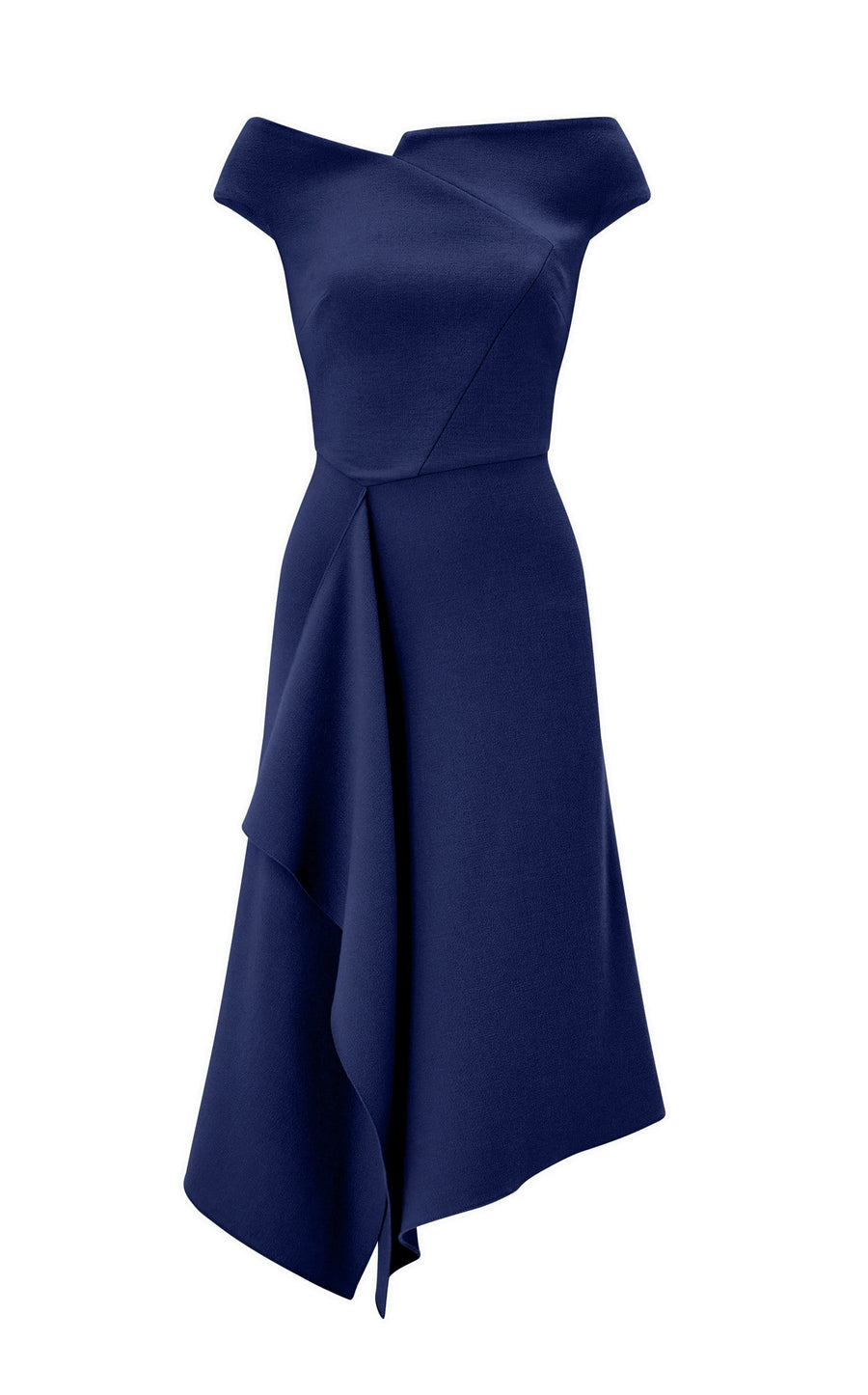 Barwick Dress In Navy from Roland Mouret
