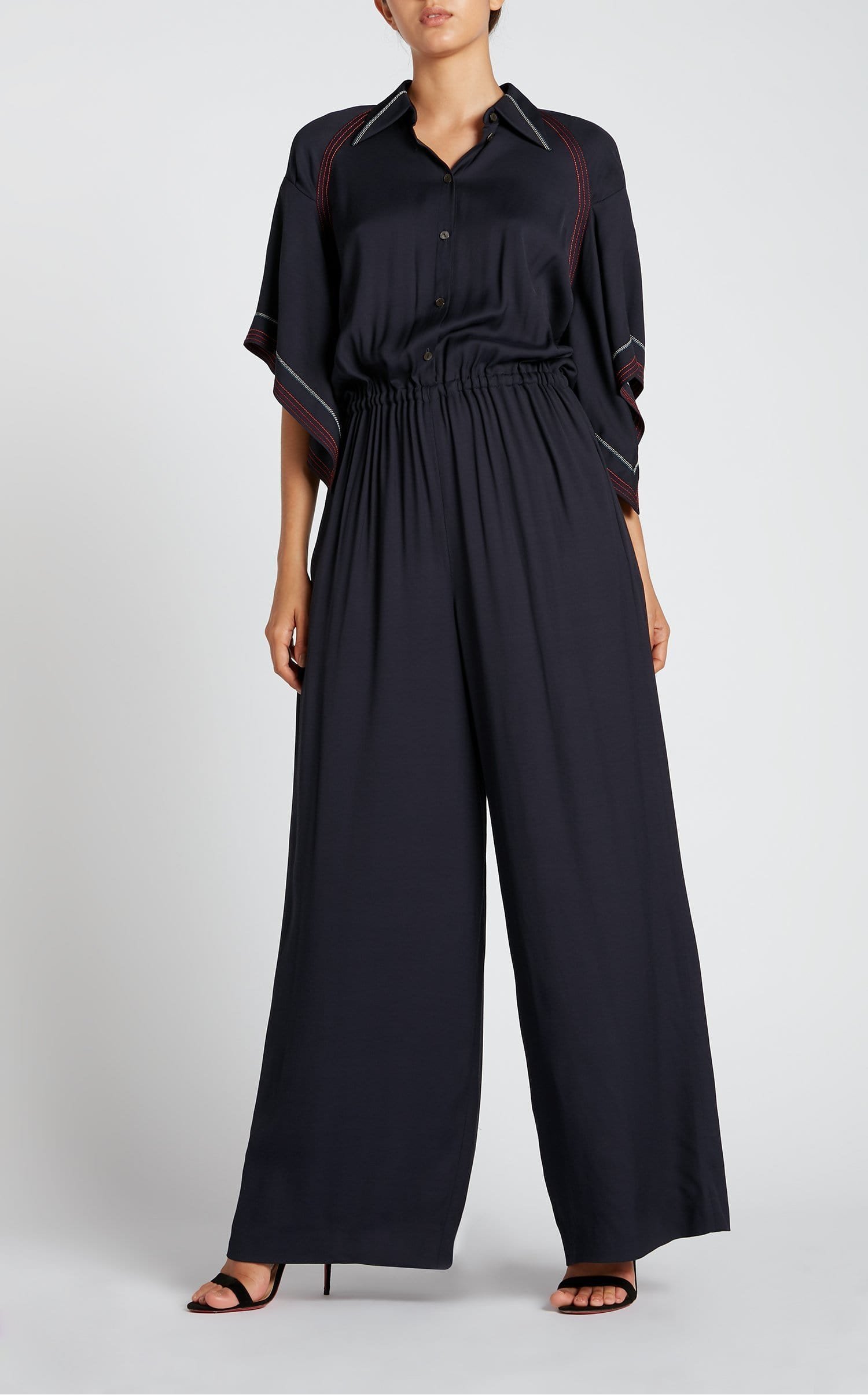 Clifford Jumpsuit In Navy from Roland Mouret