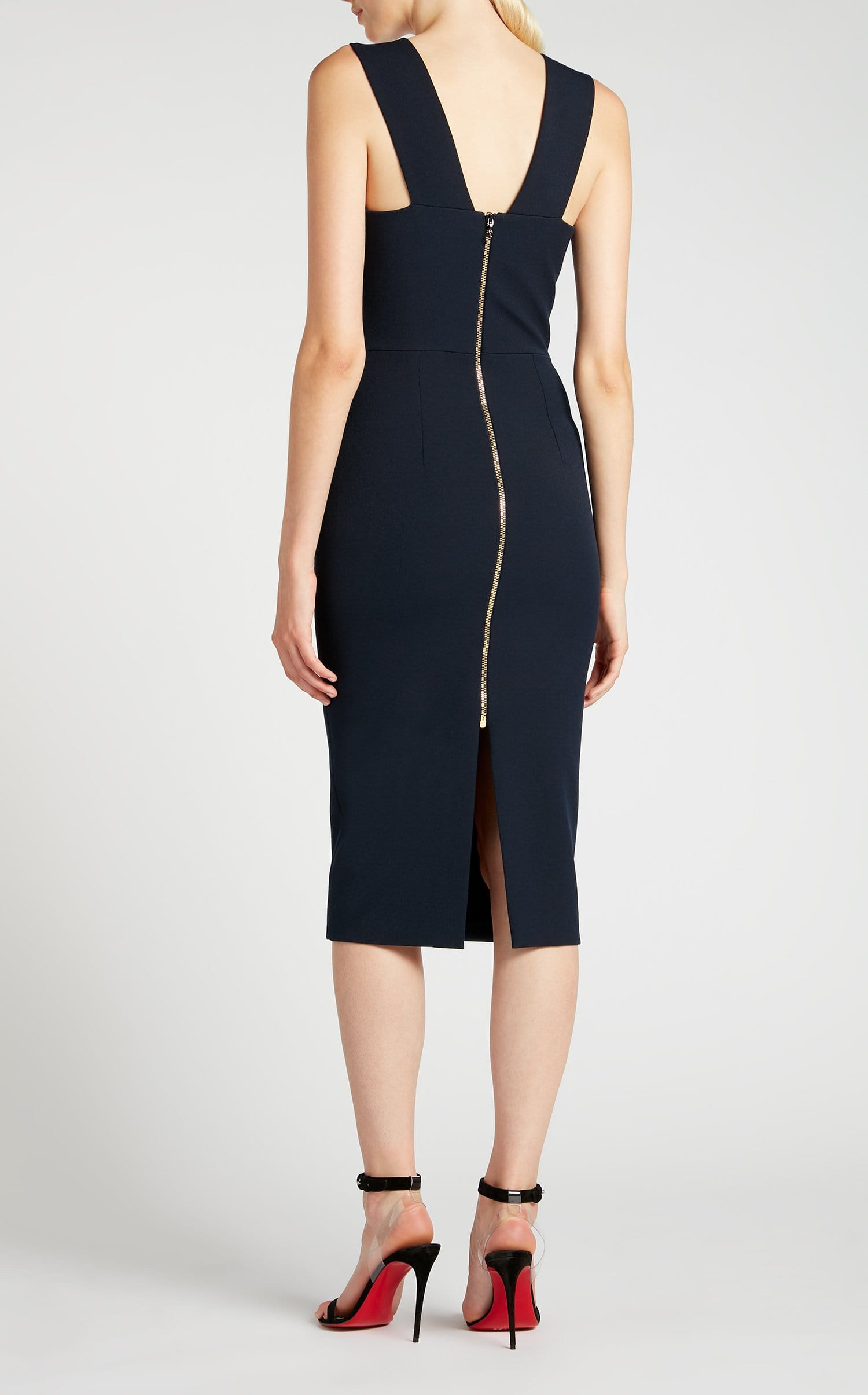 Coleby Dress In Navy from Roland Mouret
