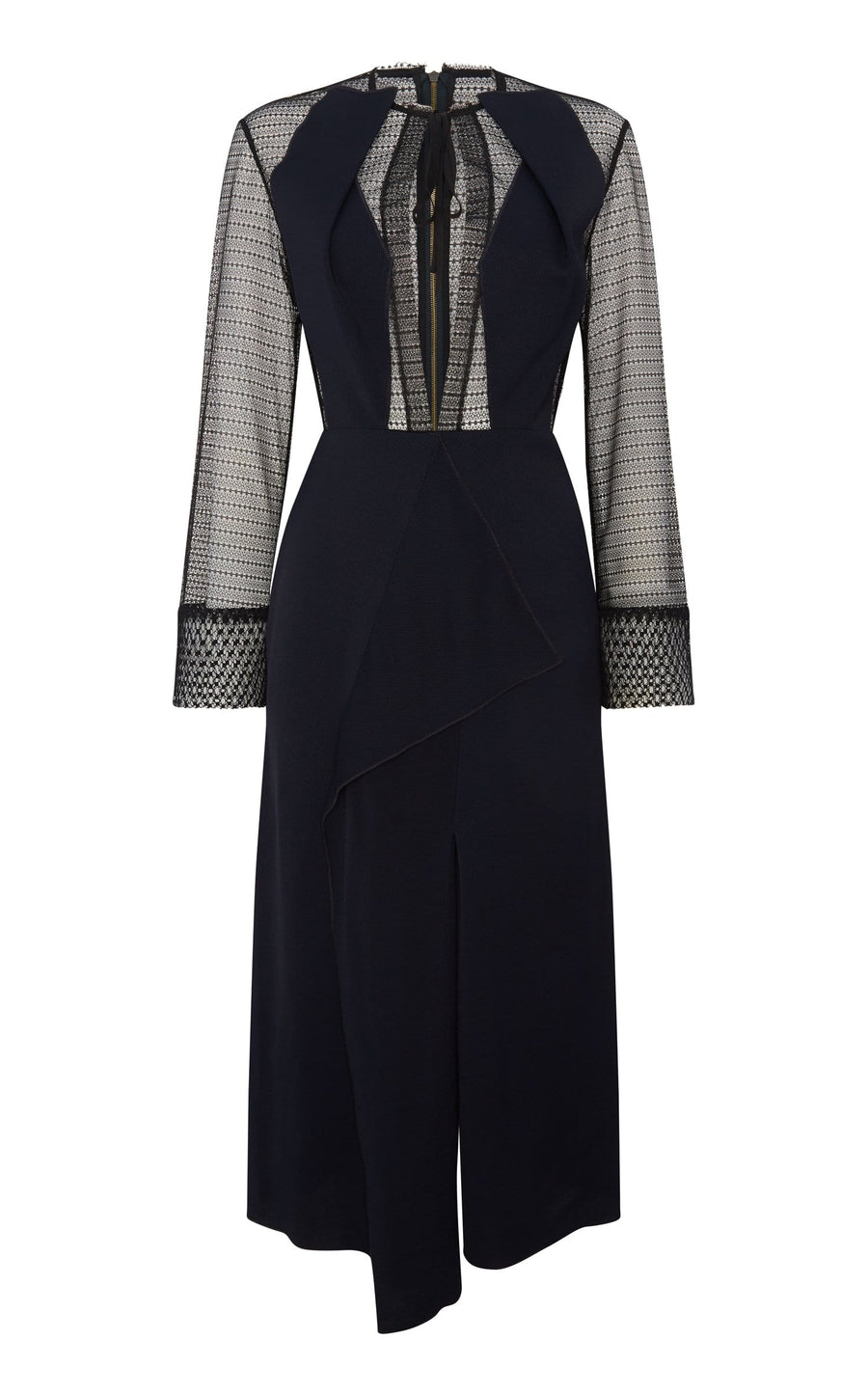 Devens Dress In Navy/Black from Roland Mouret