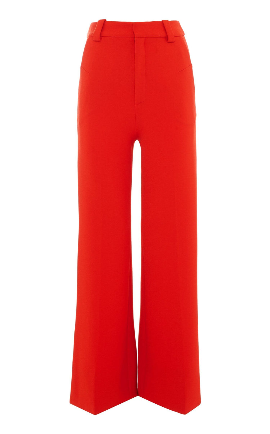 Dilman Trouser In Poppy Red from Roland Mouret