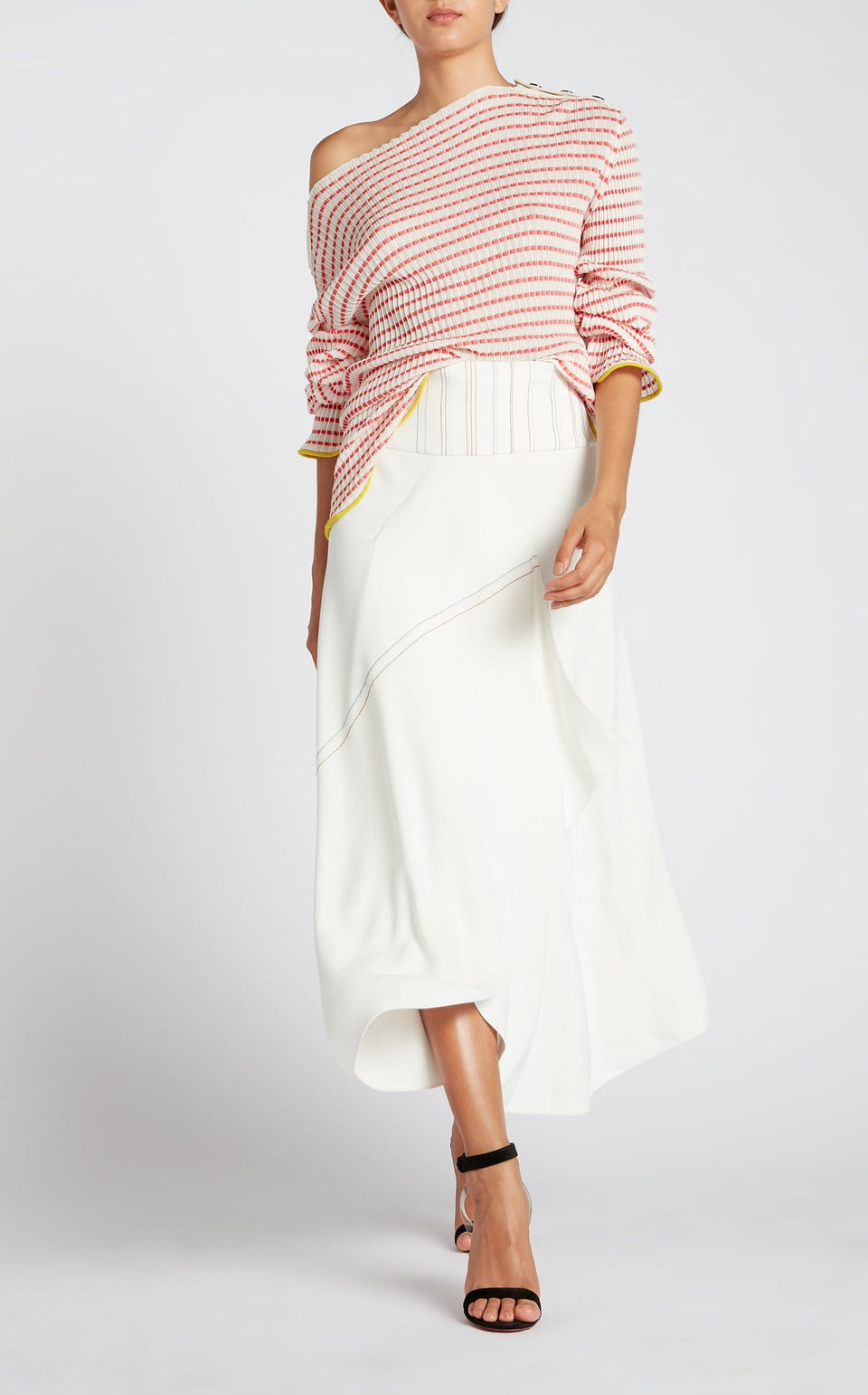 Edlin Top in White from Roland Mouret