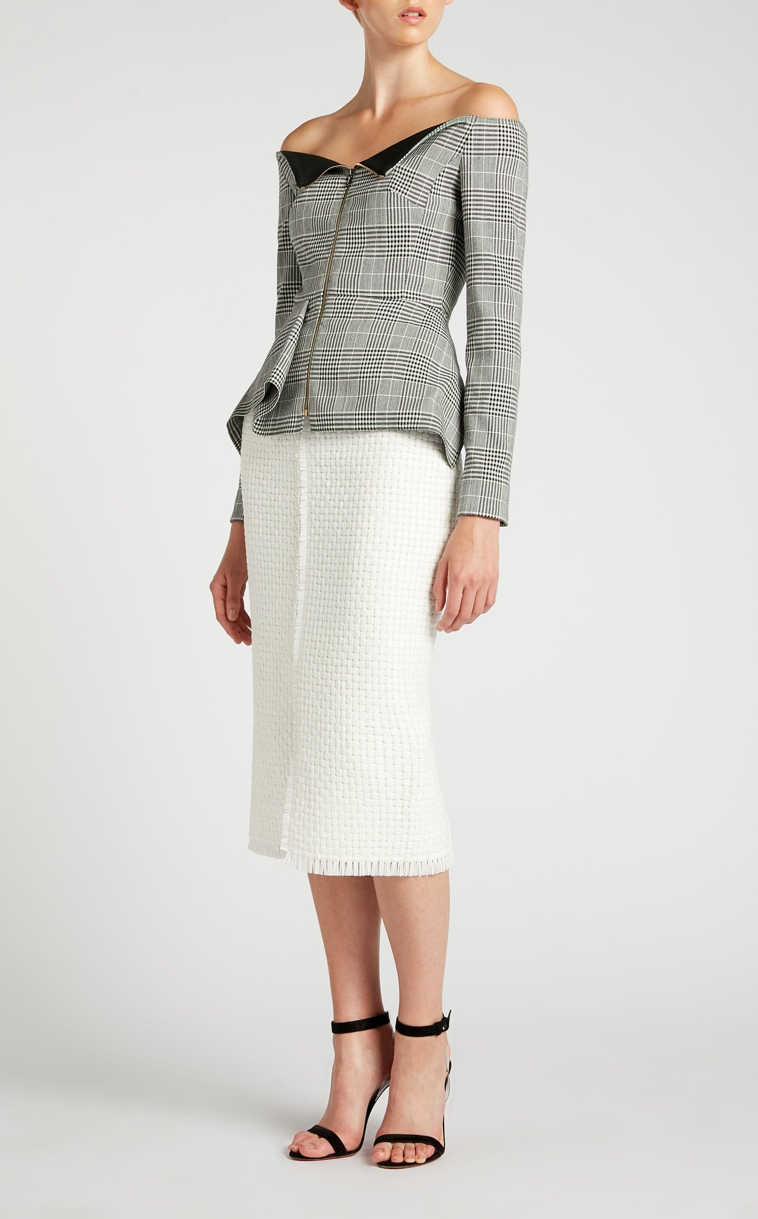 Endfield Jacket In Monochrome from Roland Mouret