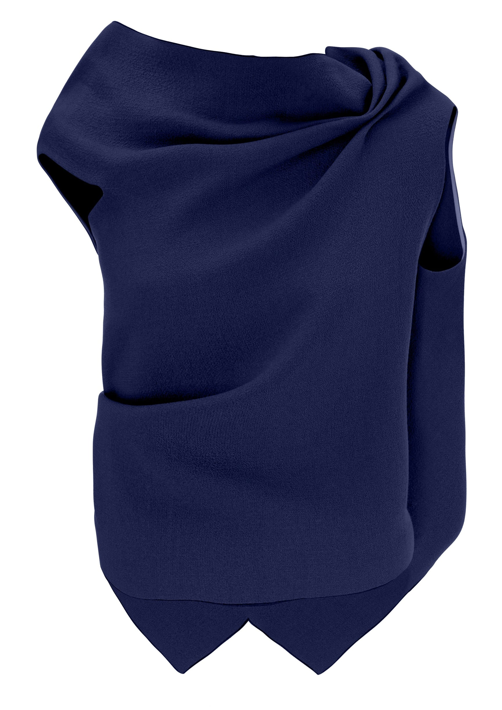 Eugene Top In Navy from Roland Mouret