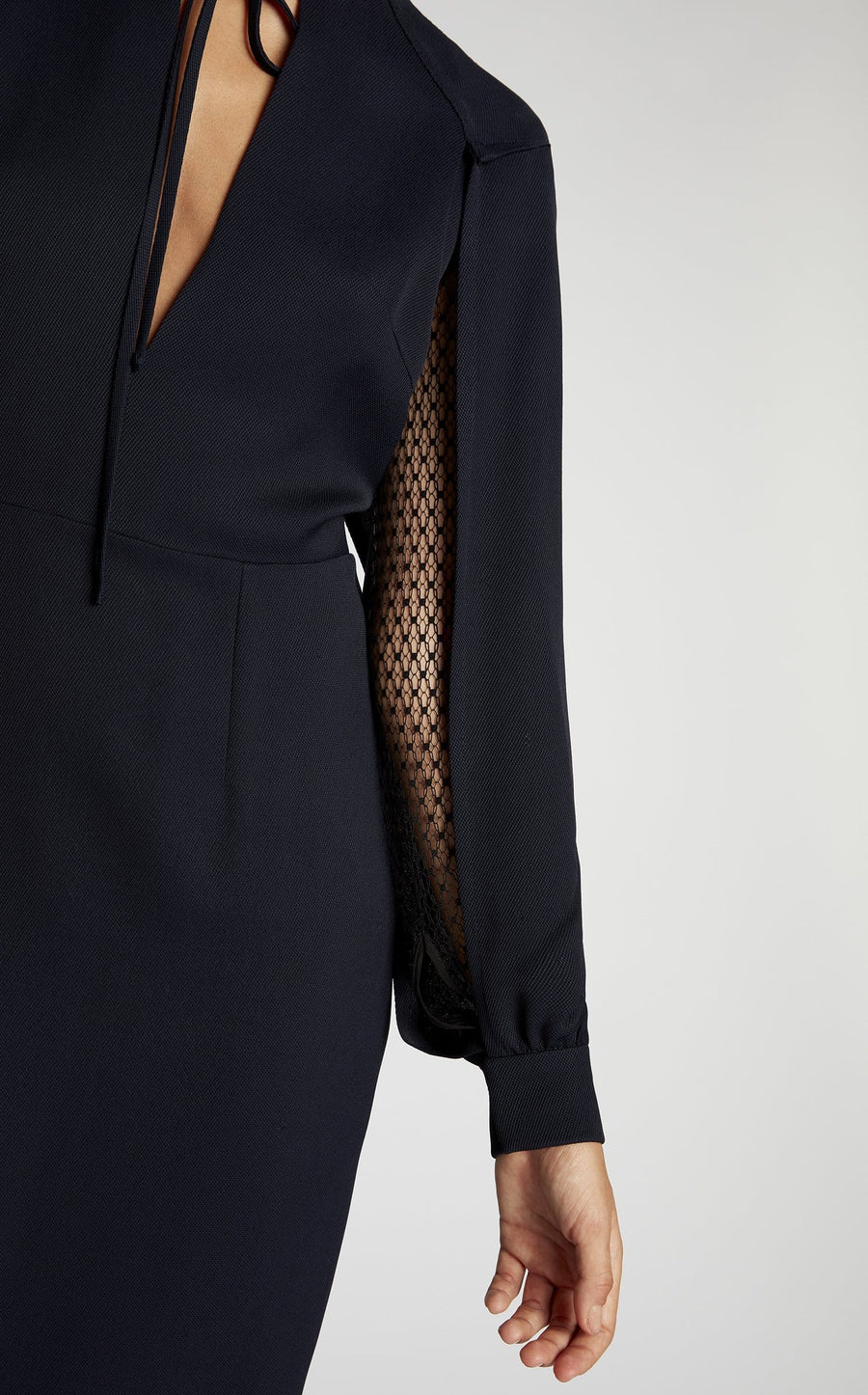 Fort Dress In Navy/Black from Roland Mouret
