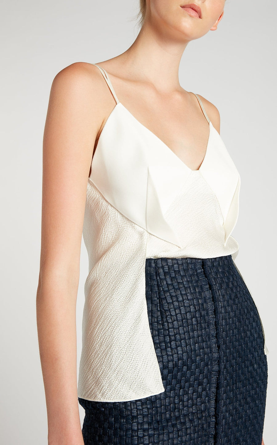 Fritz Top In White from Roland Mouret
