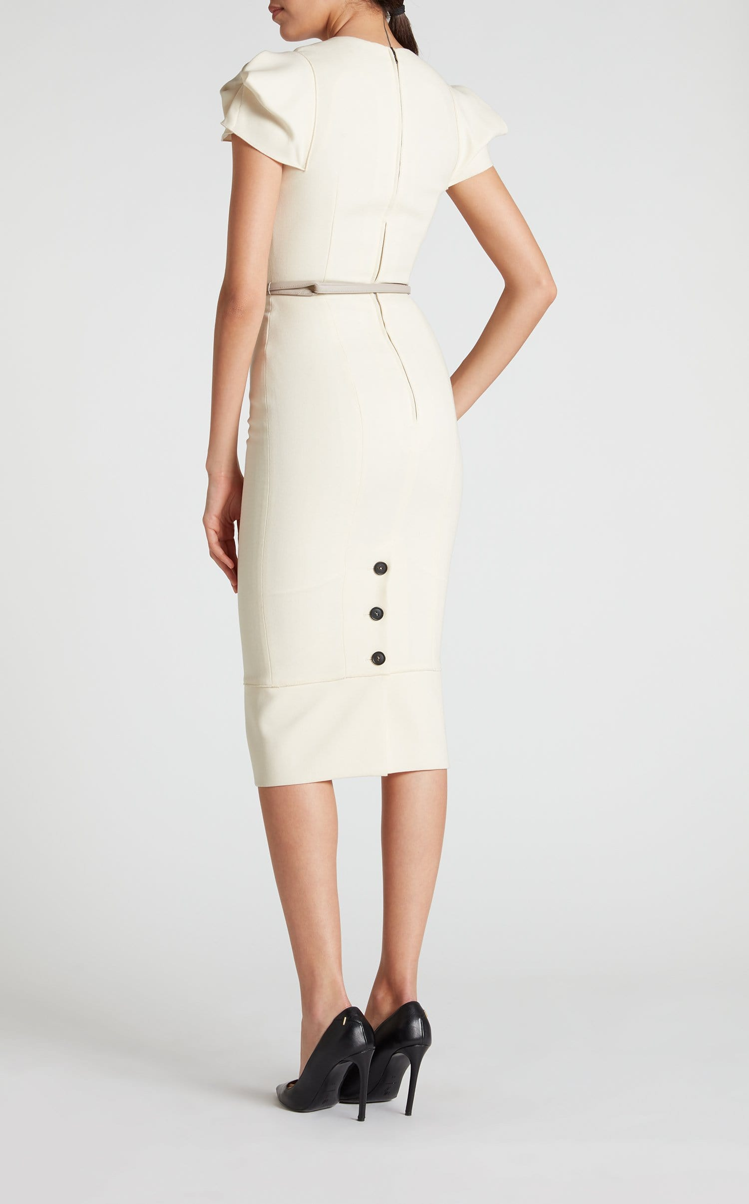 Galaxy Dress In White from Roland Mouret