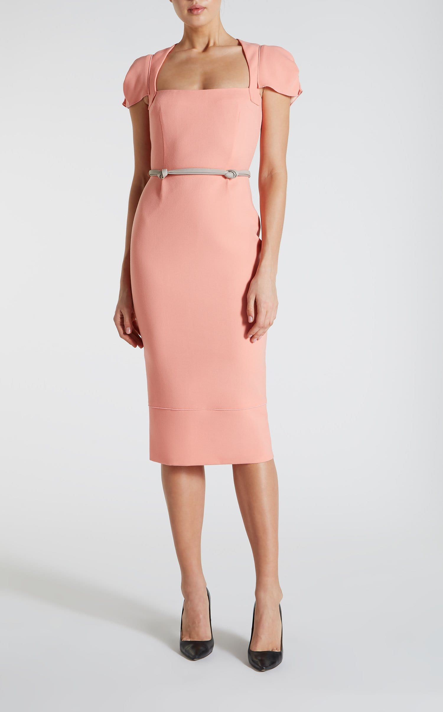 Galaxy Dress In Antique Rose from Roland Mouret