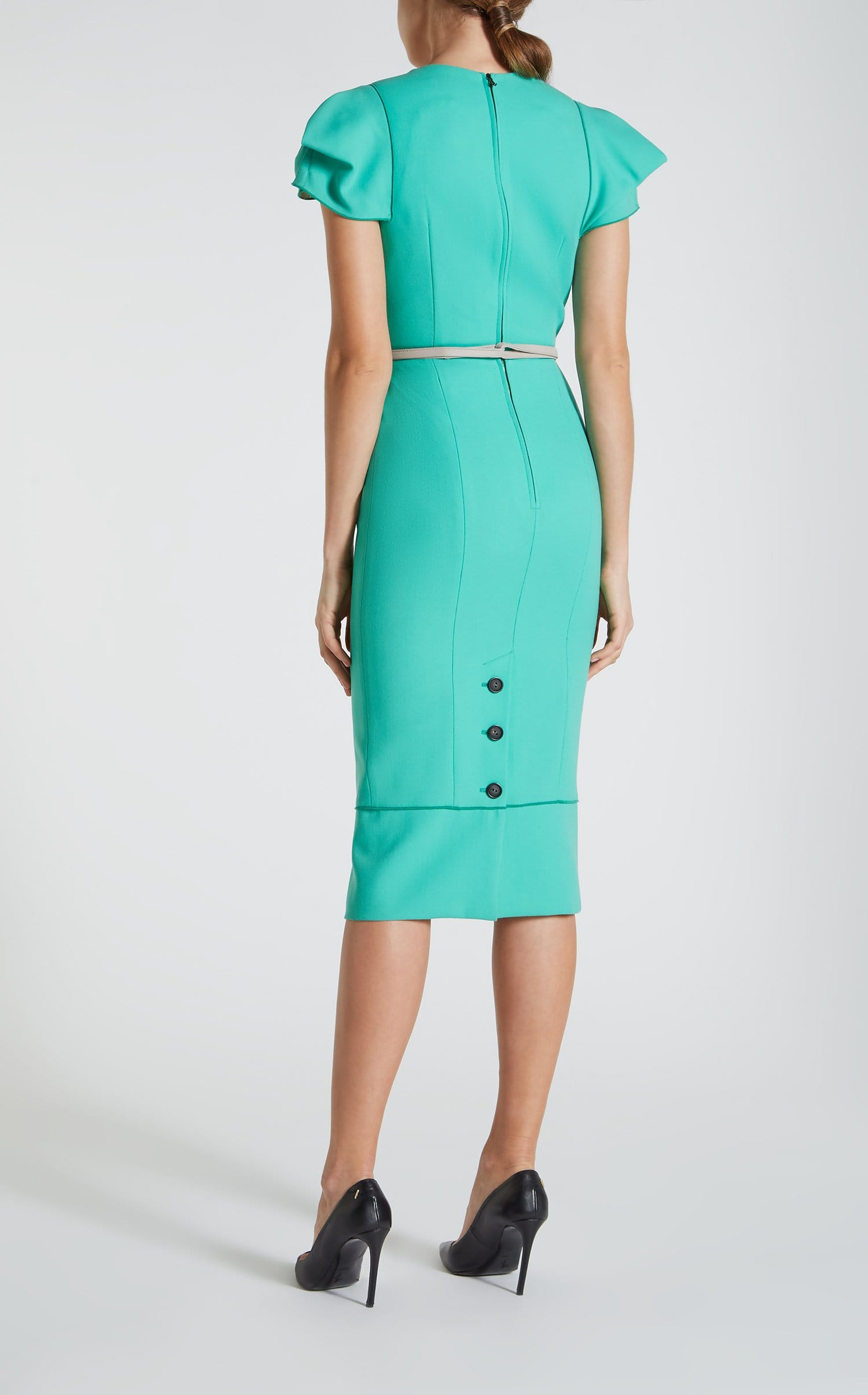 Galaxy Dress In Peppermint Green from Roland Mouret