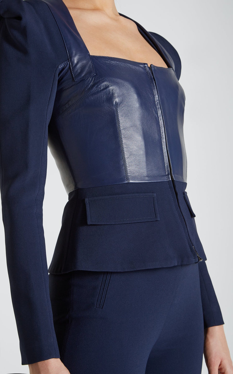 Galaxy Jacket In Navy from Roland Mouret