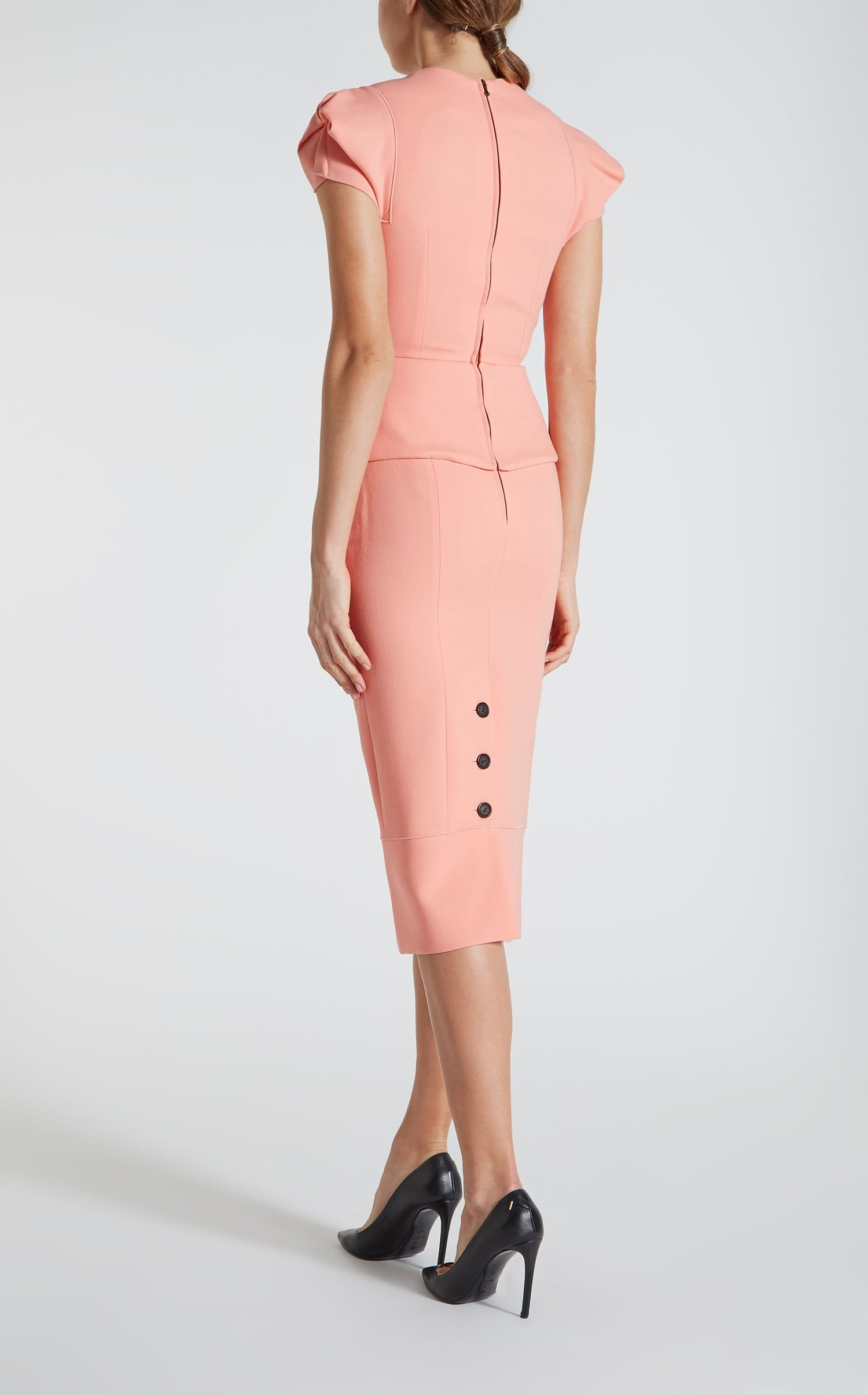Galaxy Top In Antique Rose from Roland Mouret