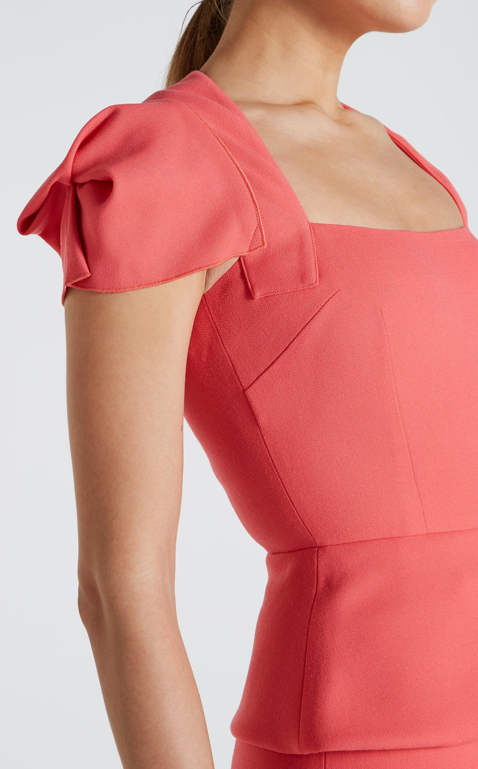 Galaxy Top In Rose Pink from Roland Mouret