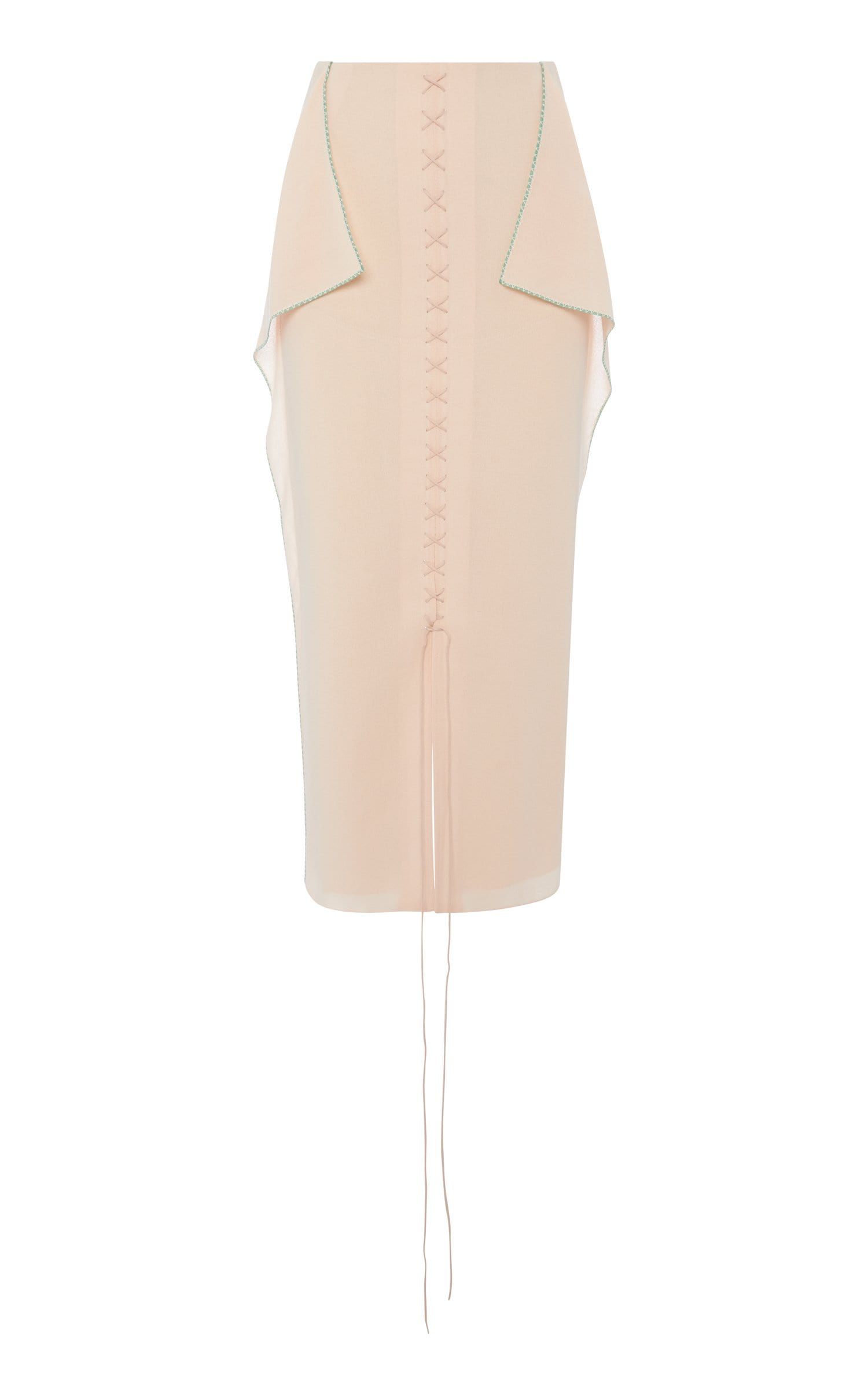 Halfin Skirt In Light Peach from Roland Mouret