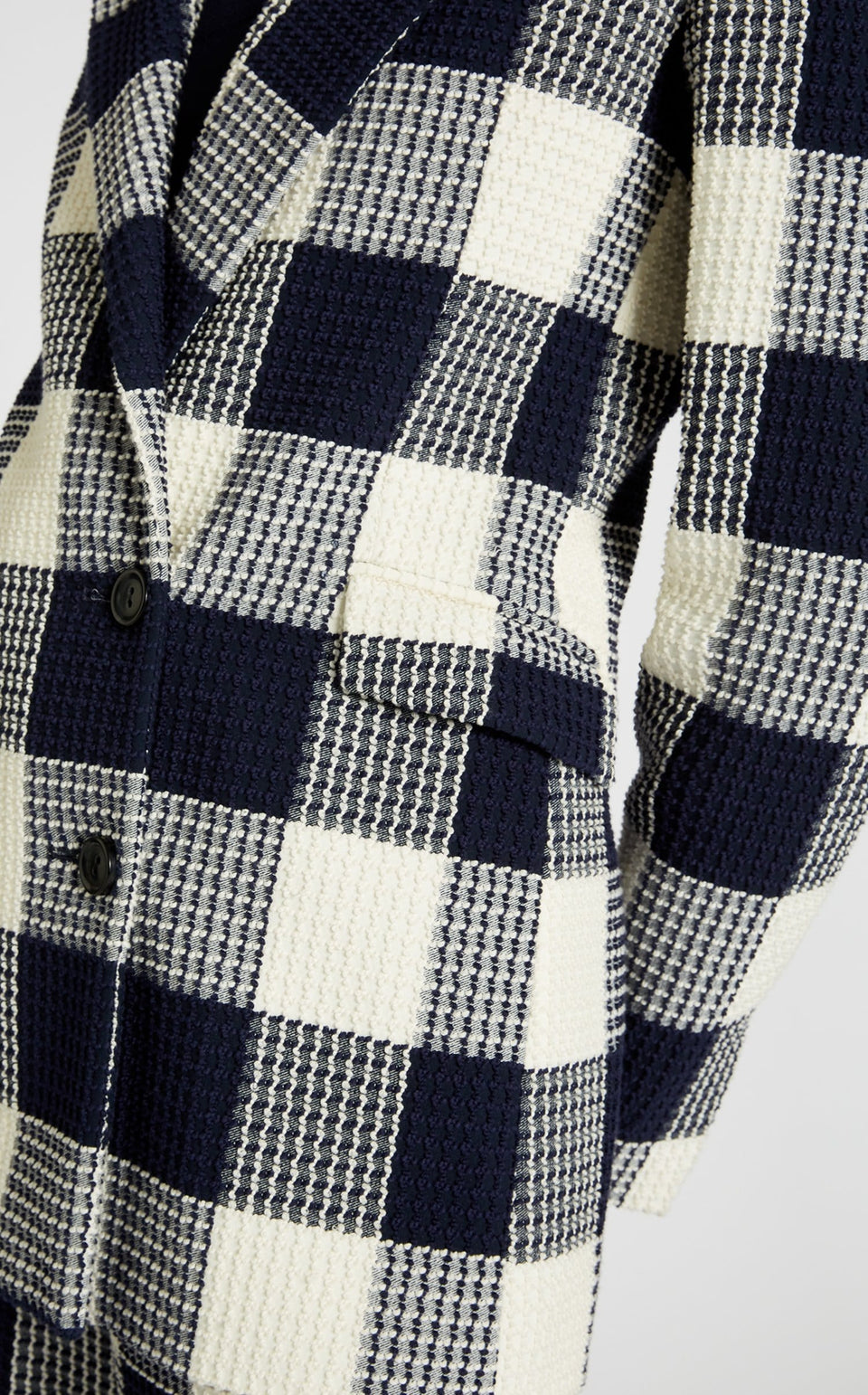Harleston Jacket In Navy/White from Roland Mouret