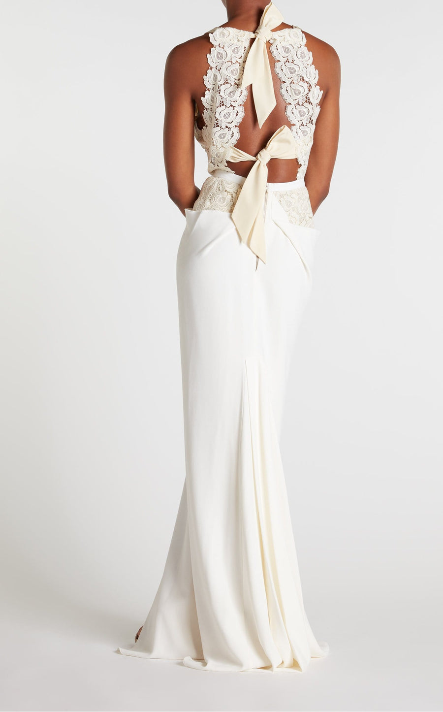 Hexam Gown In White from Roland Mouret