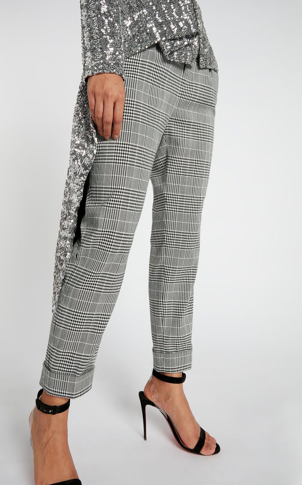 Horley Trouser In Monochrome from Roland Mouret