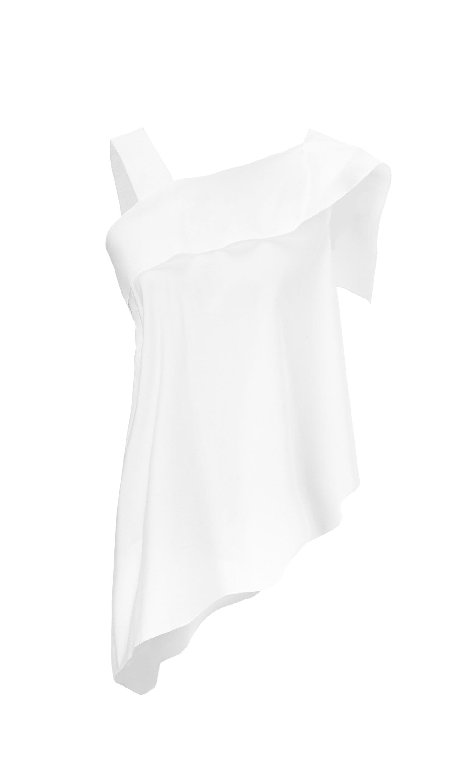 Iver Top In White from Roland Mouret