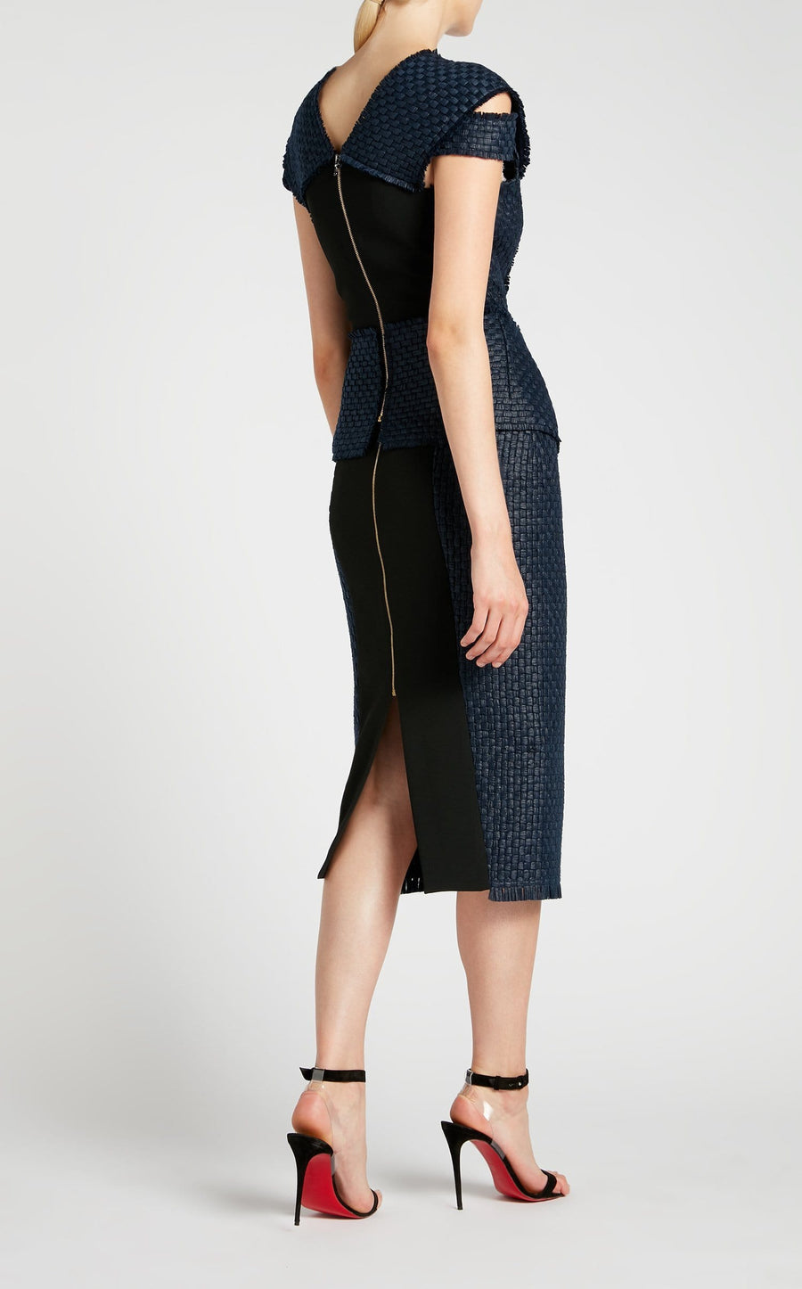 Johnson Top In Navy from Roland Mouret