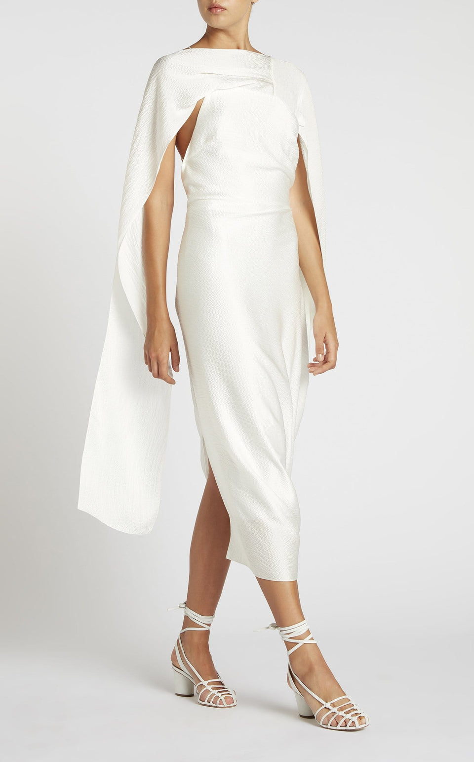 Lillico Dress In White from Roland Mouret