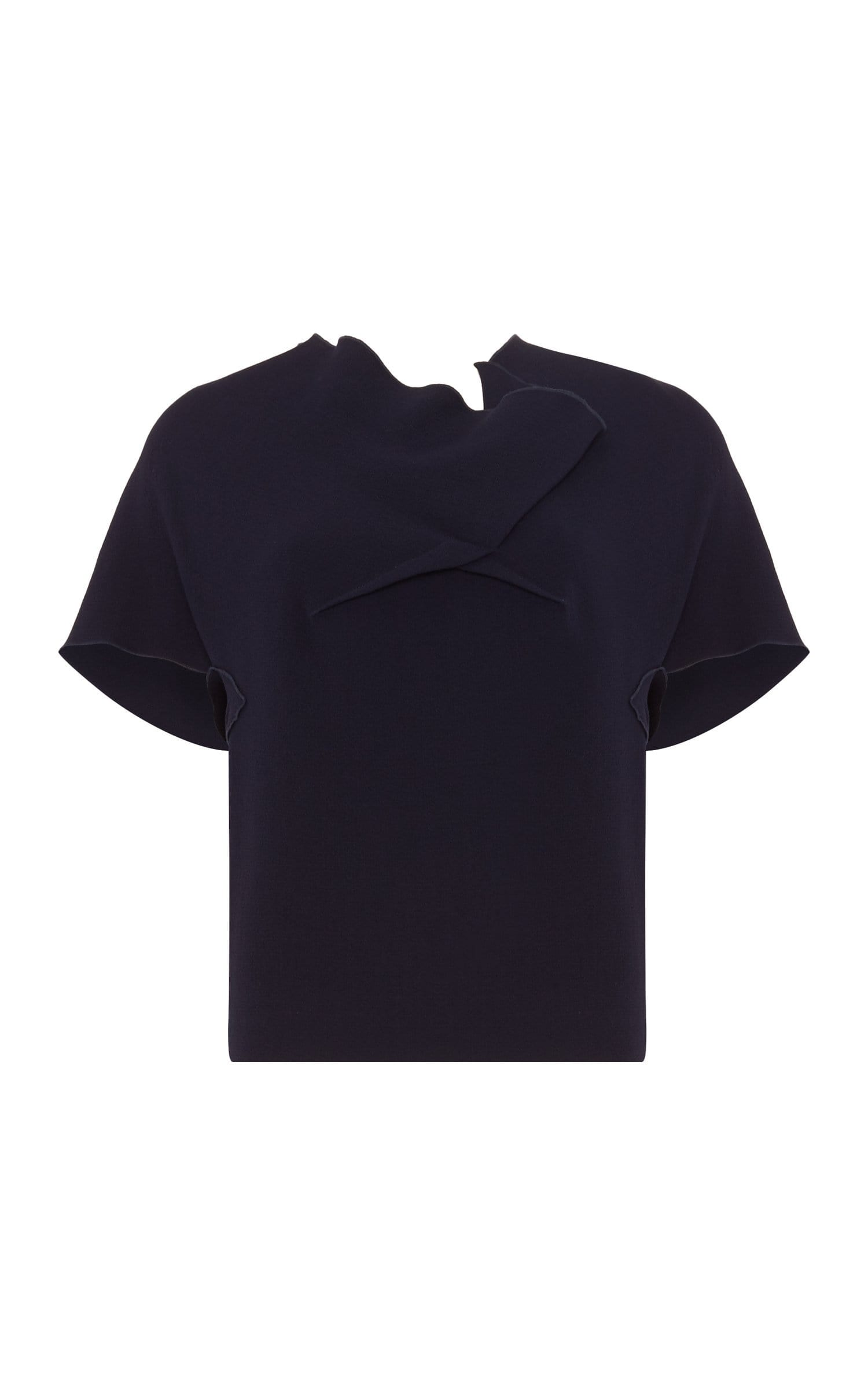 Lindsay Top In Navy from Roland Mouret