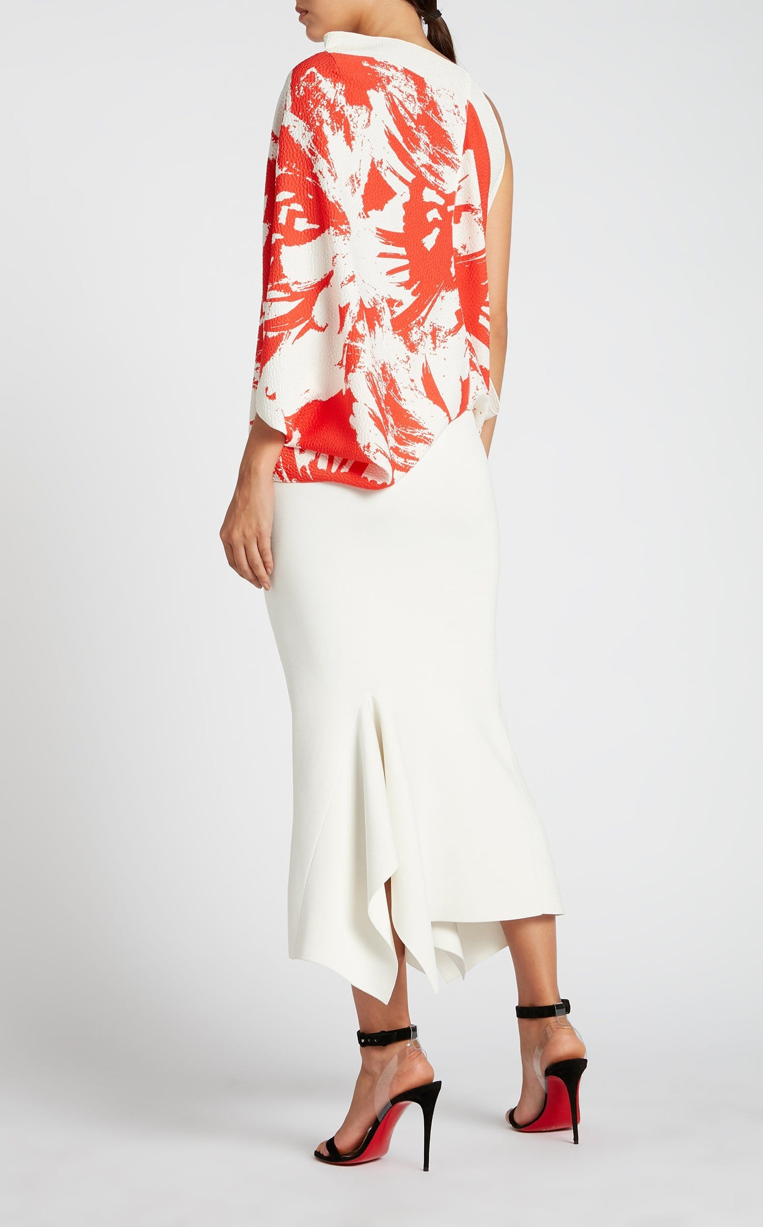 Lucca Skirt In White from Roland Mouret