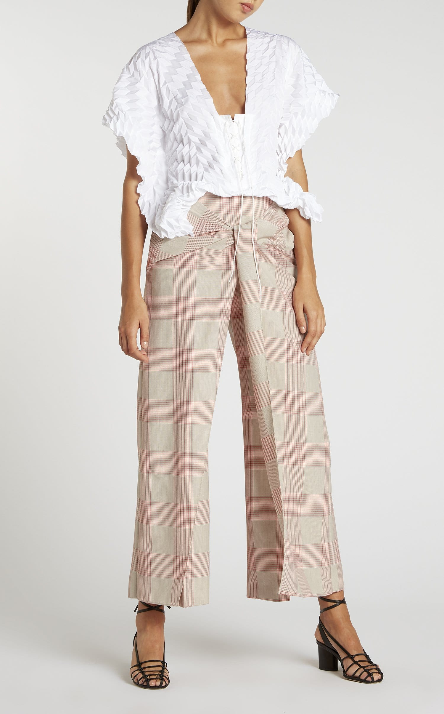 Fenwick Trouser In Oatmeal from Roland Mouret