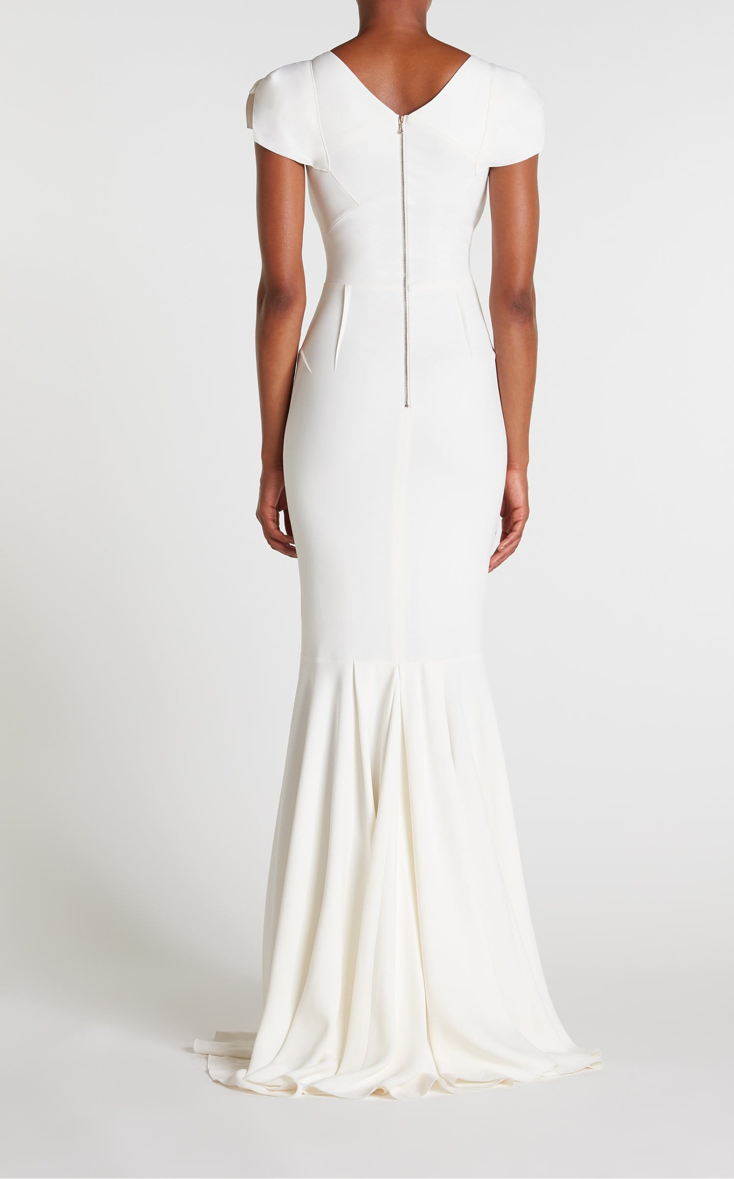 Marilla Gown In White from Roland Mouret