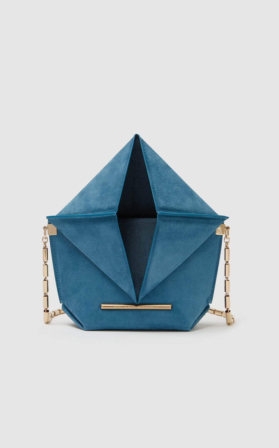 Mini Classico Bag In Cornflower blue from Roland Mouret
