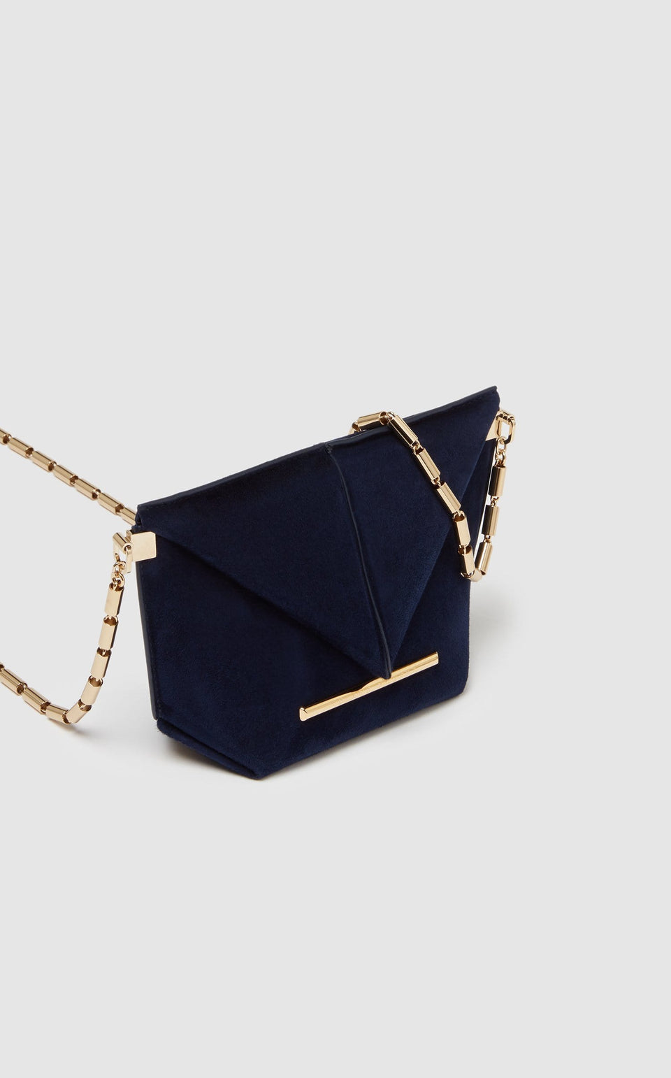 Mini Classico Bag In Navy from Roland Mouret