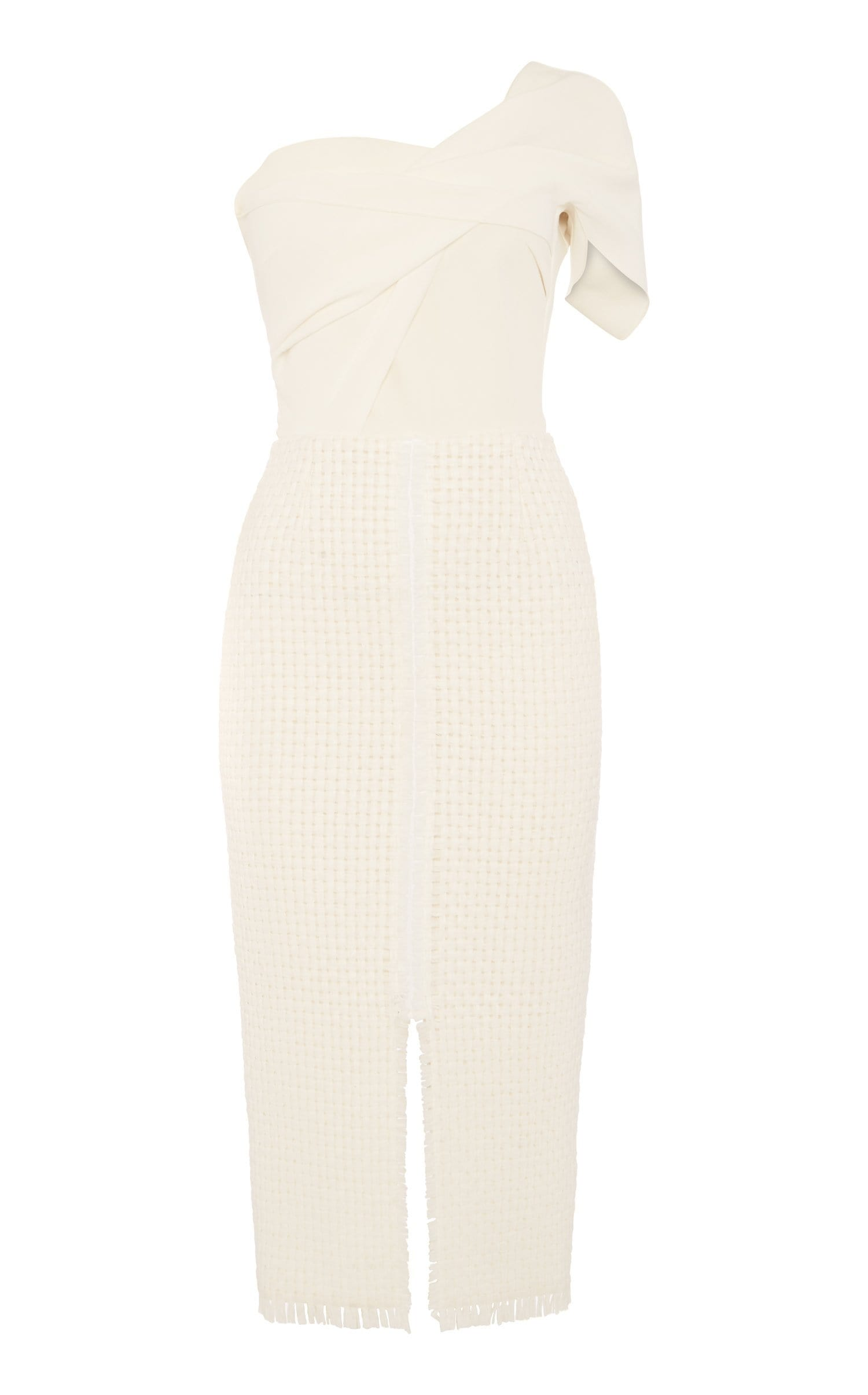 Morita Dress In White from Roland Mouret