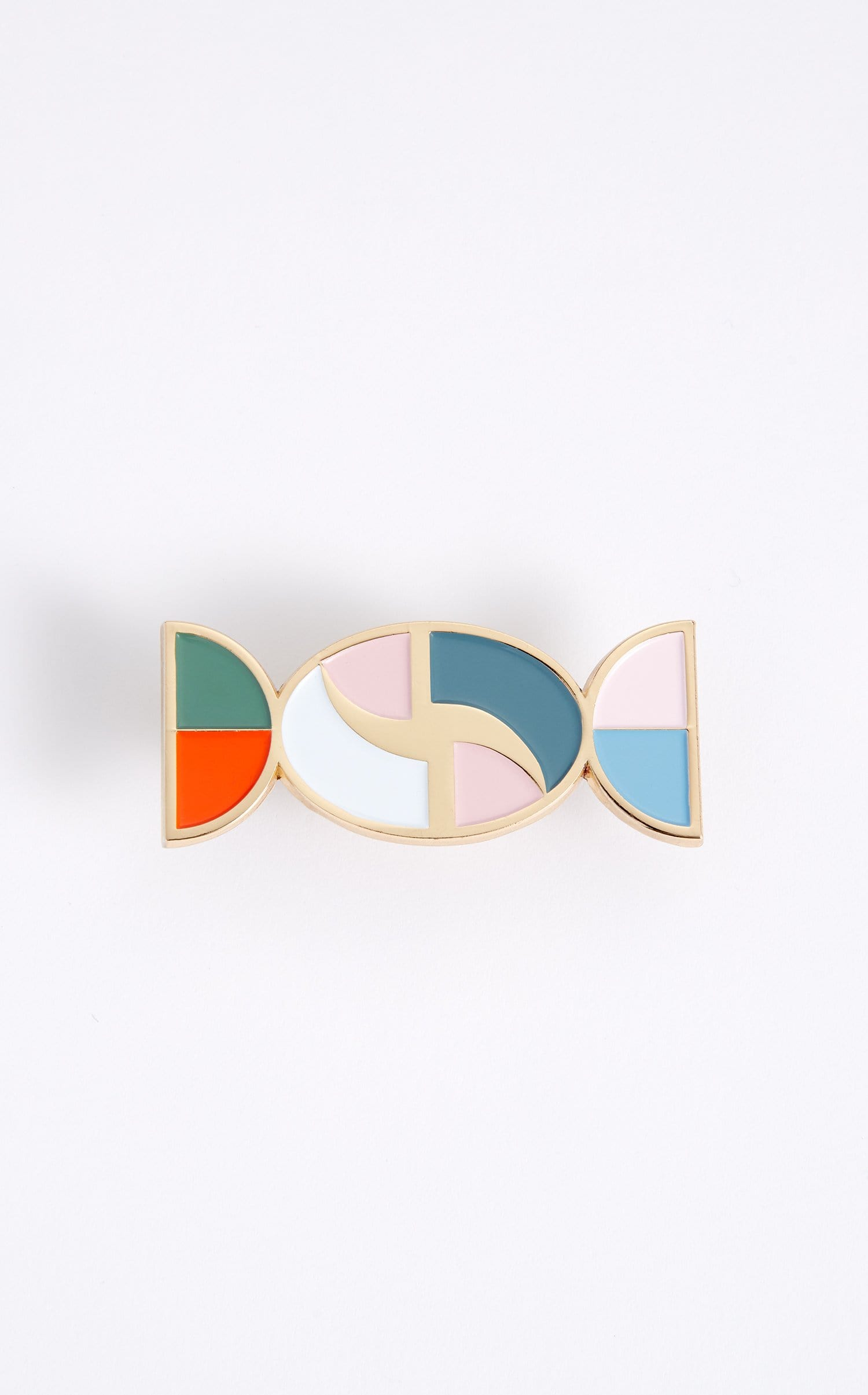 Nanou Pin In Gold Multi from Roland Mouret