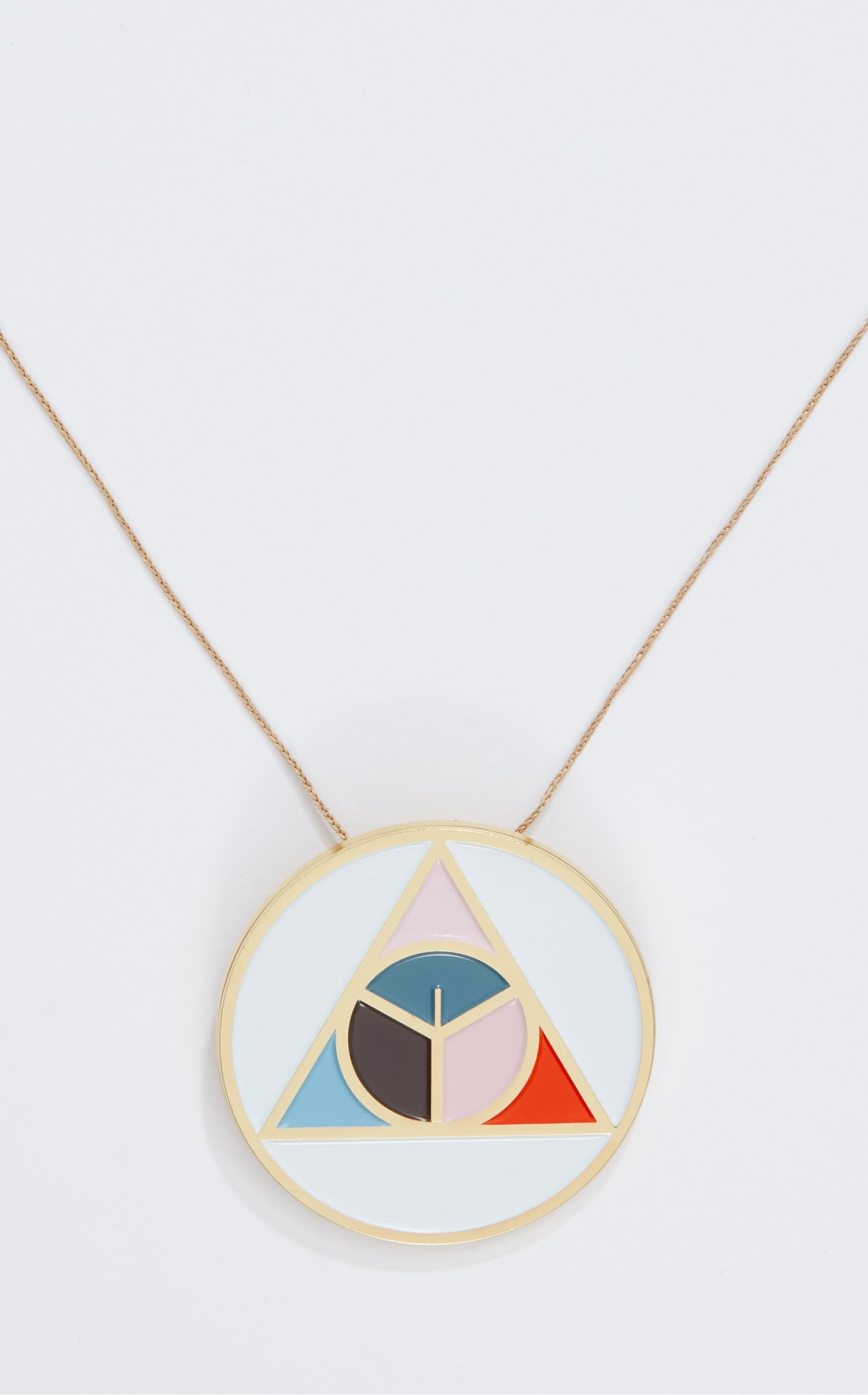 Narin Pendant In Gold Multi from Roland Mouret