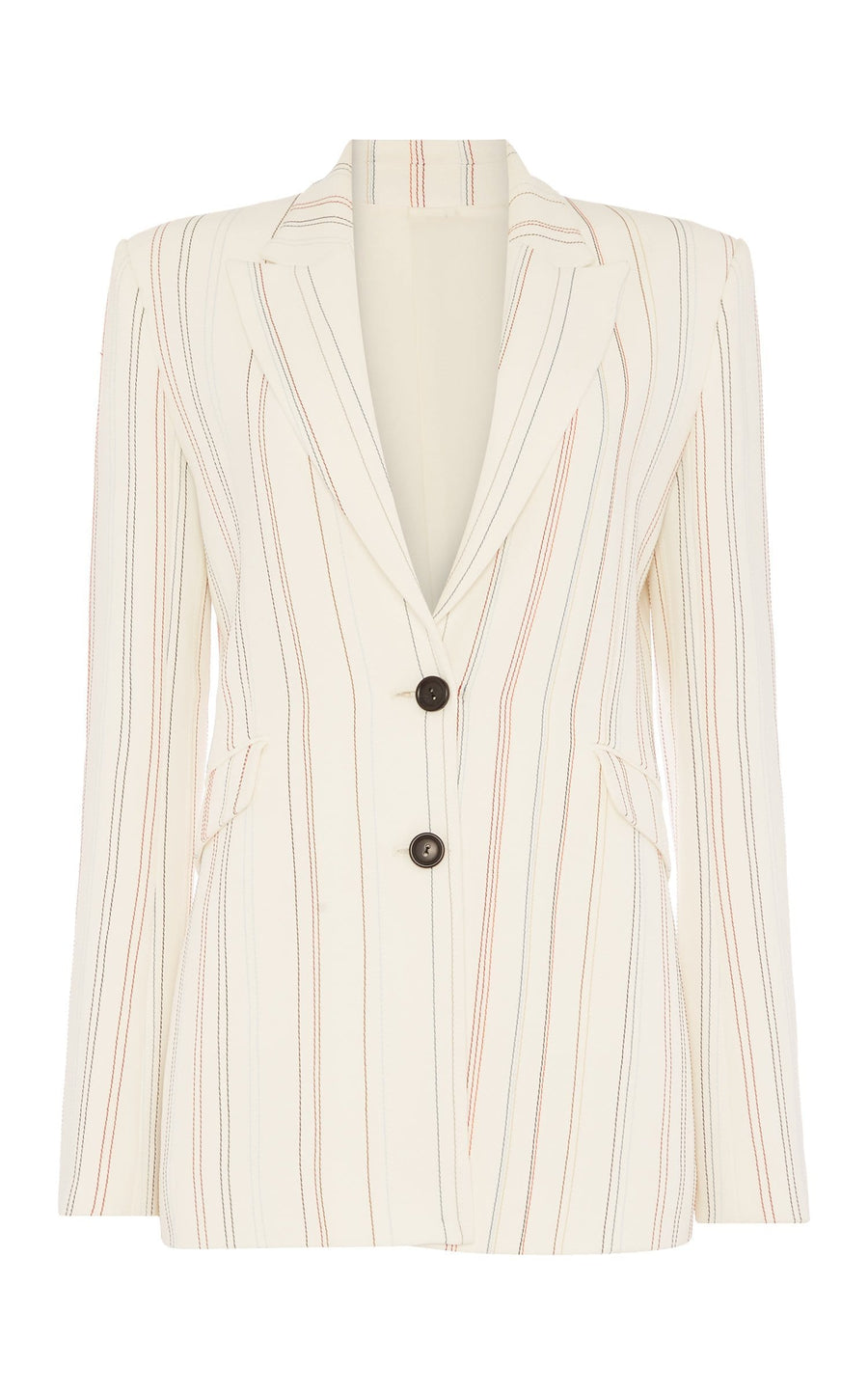 Neyman Jacket In White Multi from Roland Mouret