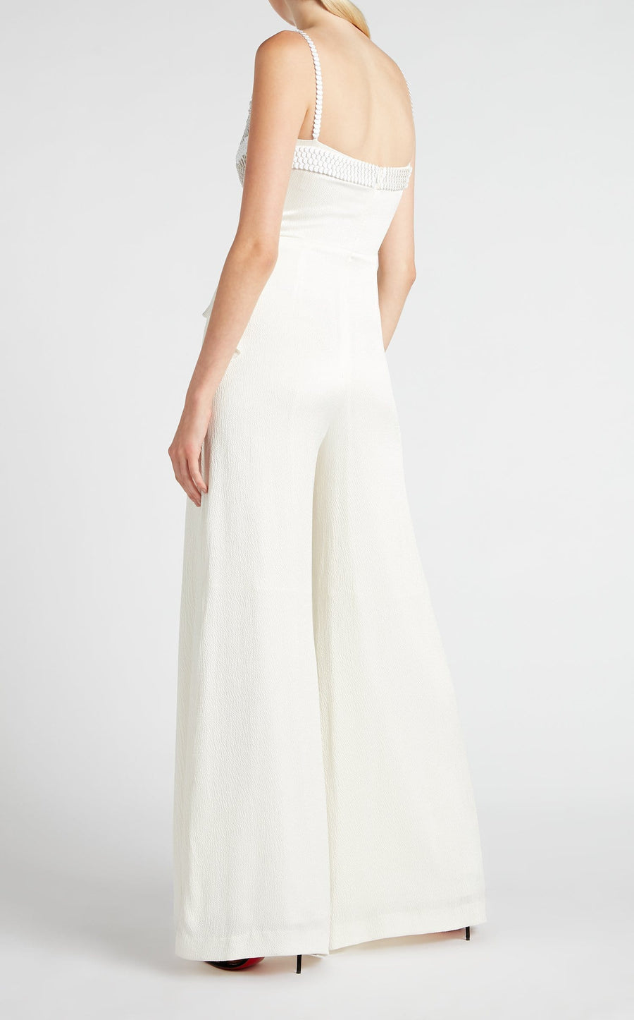Primrose Jumpsuit In White from Roland Mouret