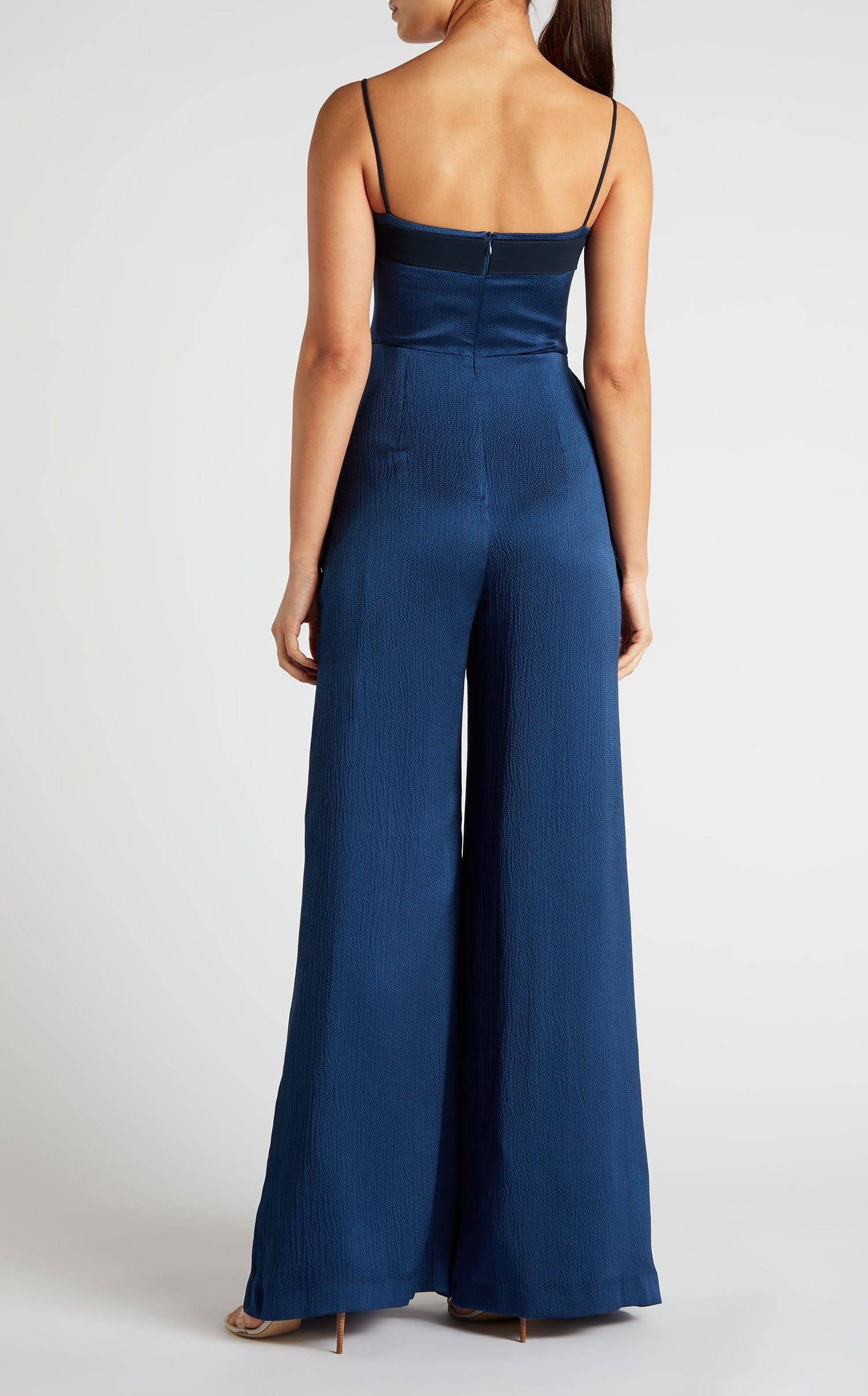 Primrose Jumpsuit In Ultramarine/Navy from Roland Mouret