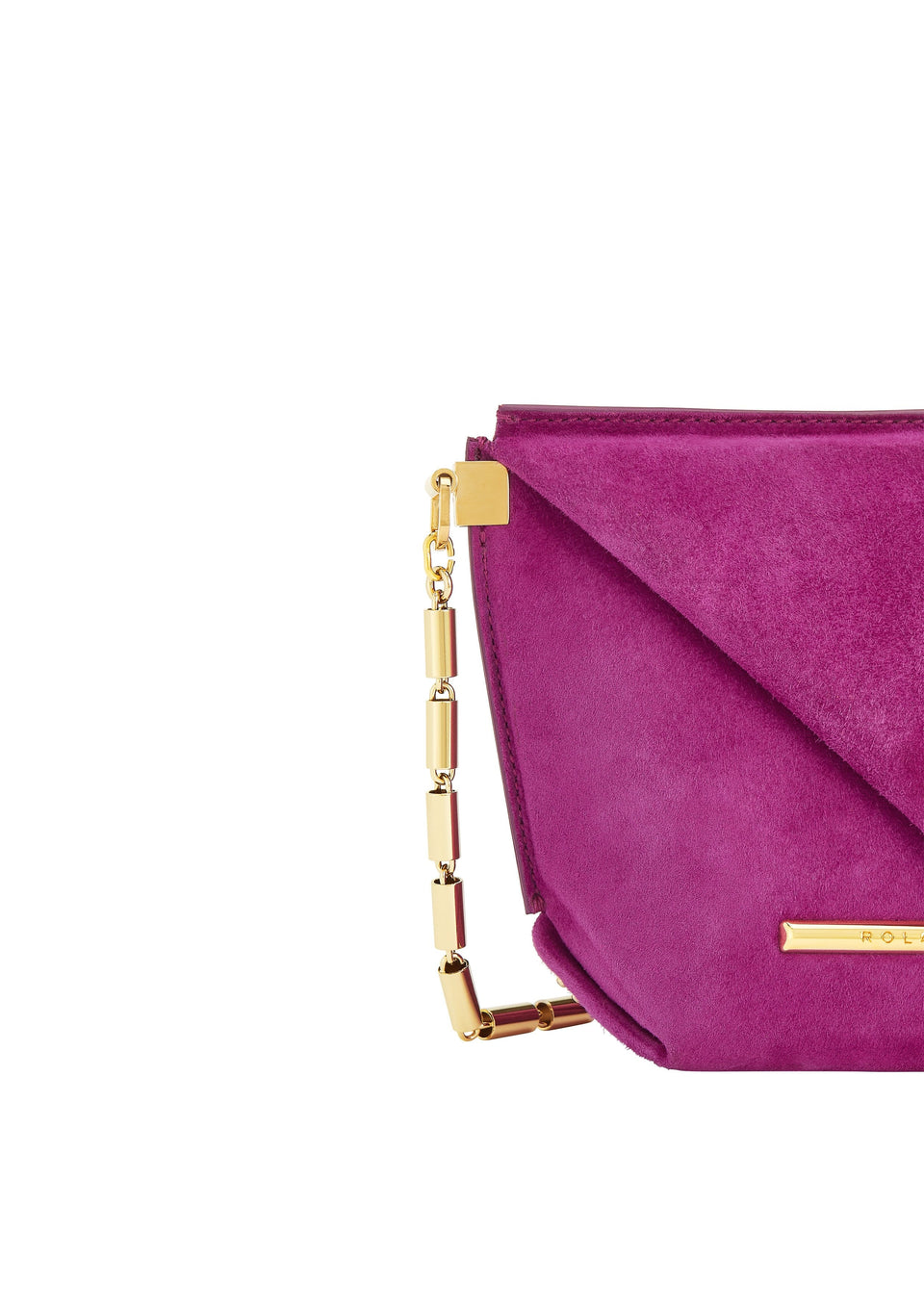 Mini Classico Bag In Cerise from Roland Mouret