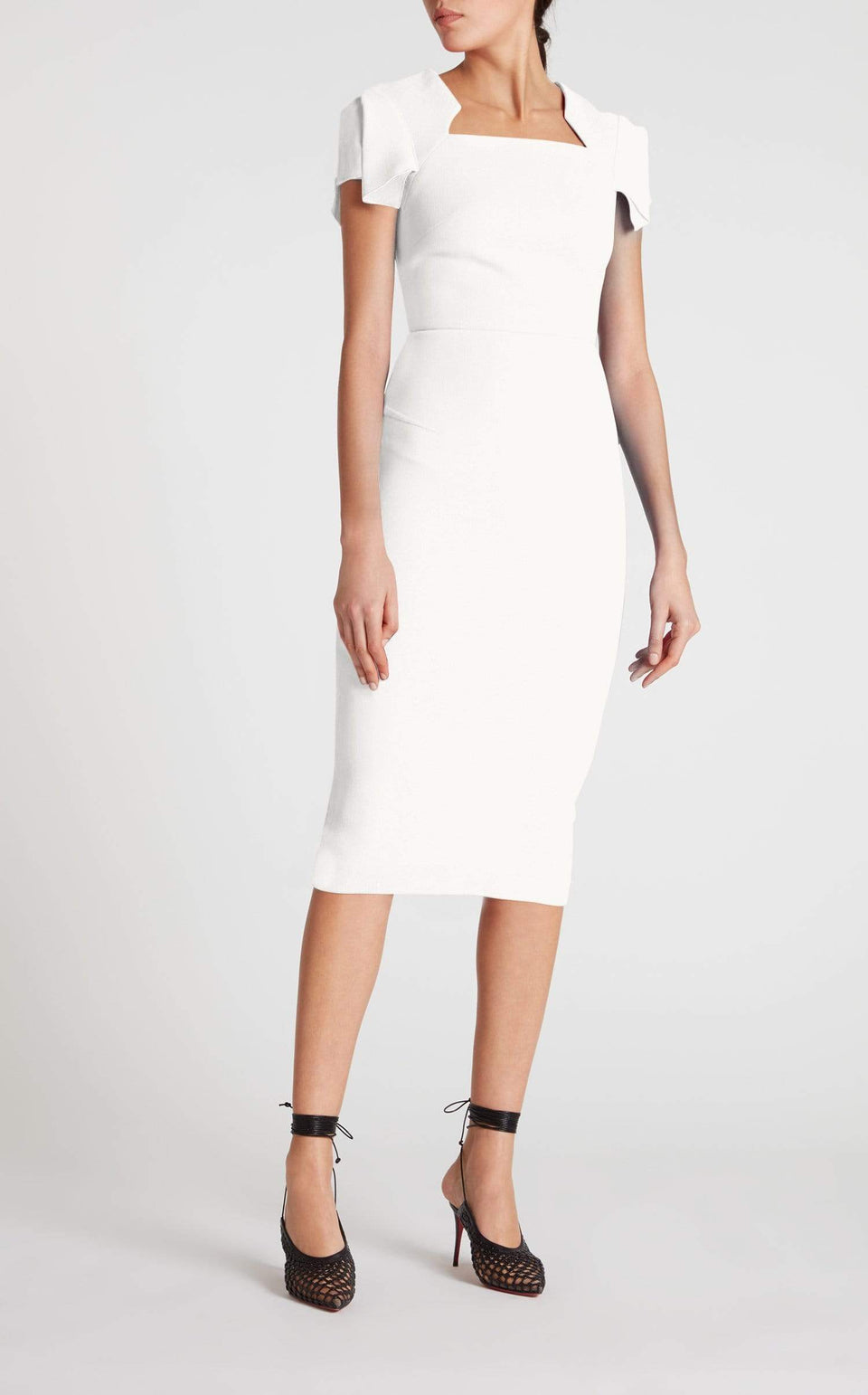 Royston Dress In White from Roland Mouret