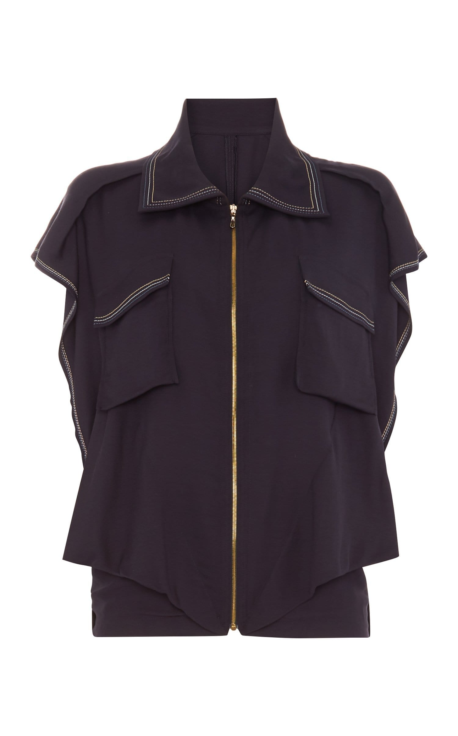 Sampson Jacket In Navy from Roland Mouret