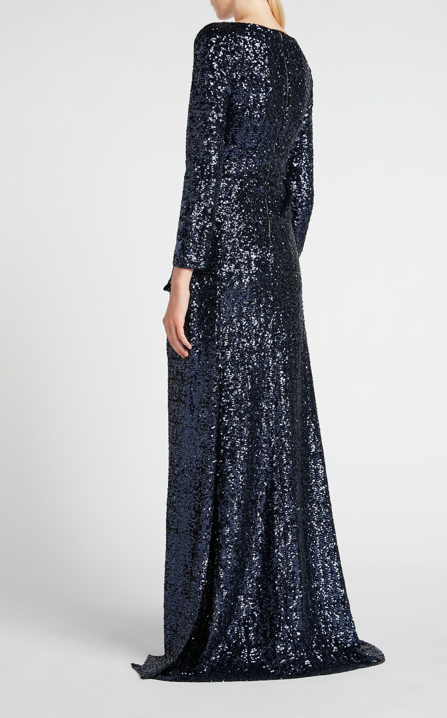 Sarandon Gown In Navy from Roland Mouret
