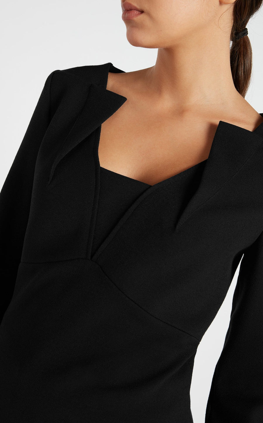 Strand Top In Black from Roland Mouret